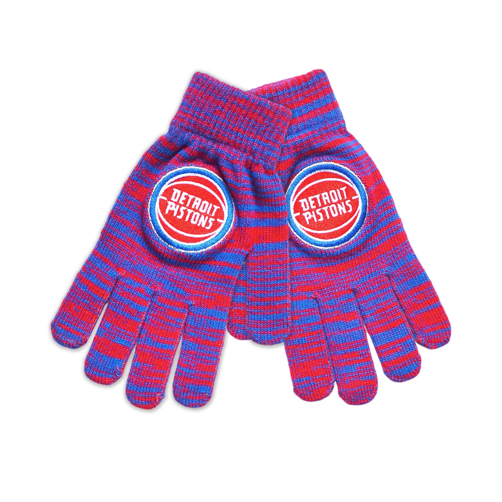 Detroit Pistons Colorblend Gloves