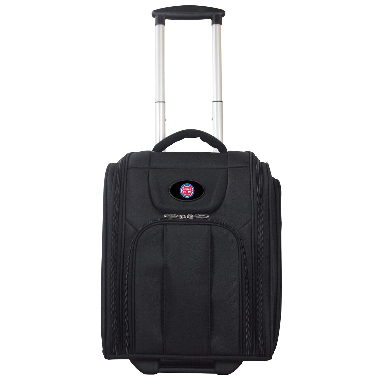 """Detroit Pistons 16"""" Business Tote Laptop Bag - Black"""