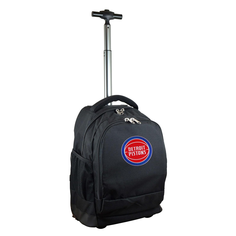 Detroit Pistons 19'' Premium Wheeled Backpack - Black