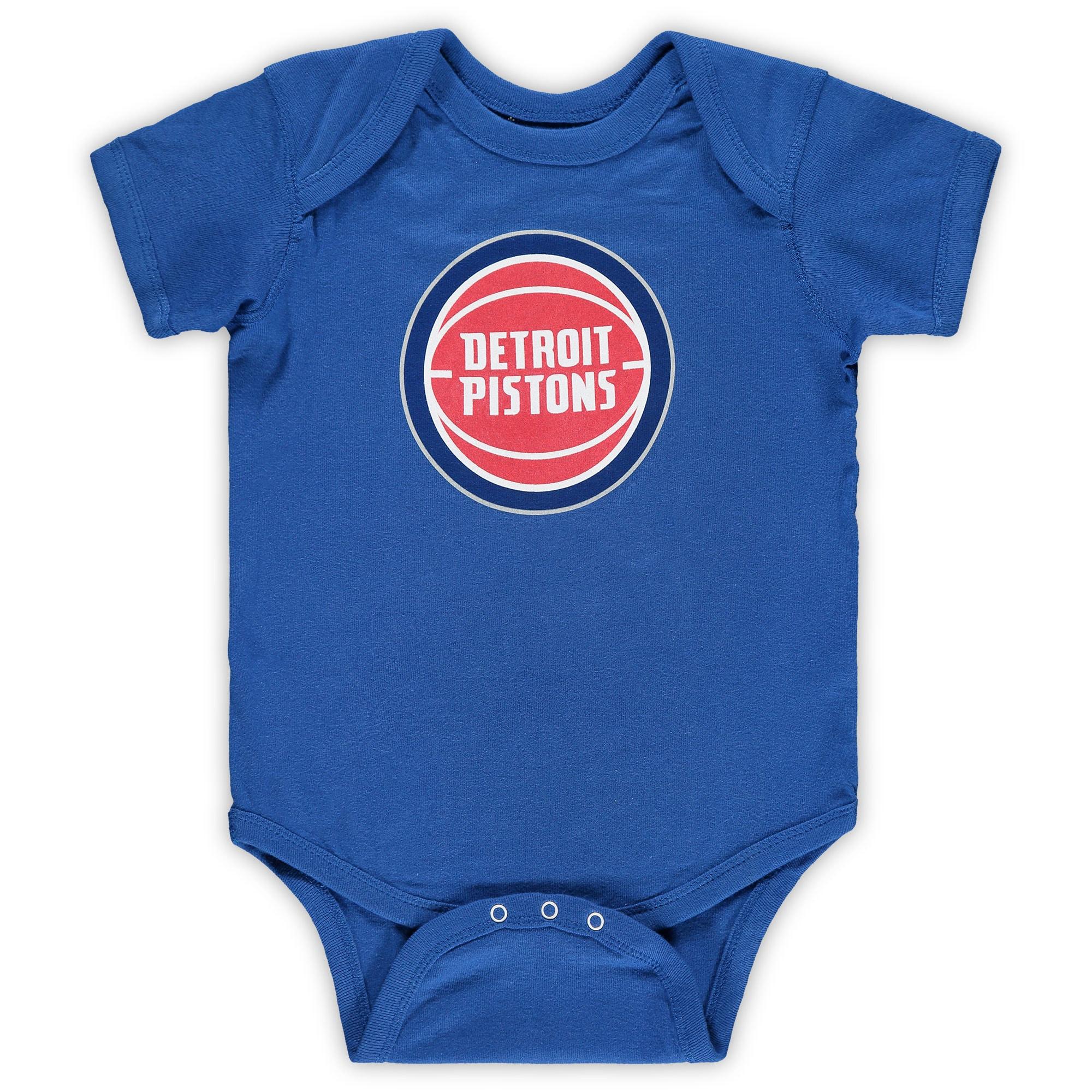Detroit Pistons Infant Primary Team Logo Bodysuit - Royal