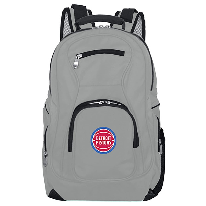 Detroit Pistons Backpack Laptop - Gray