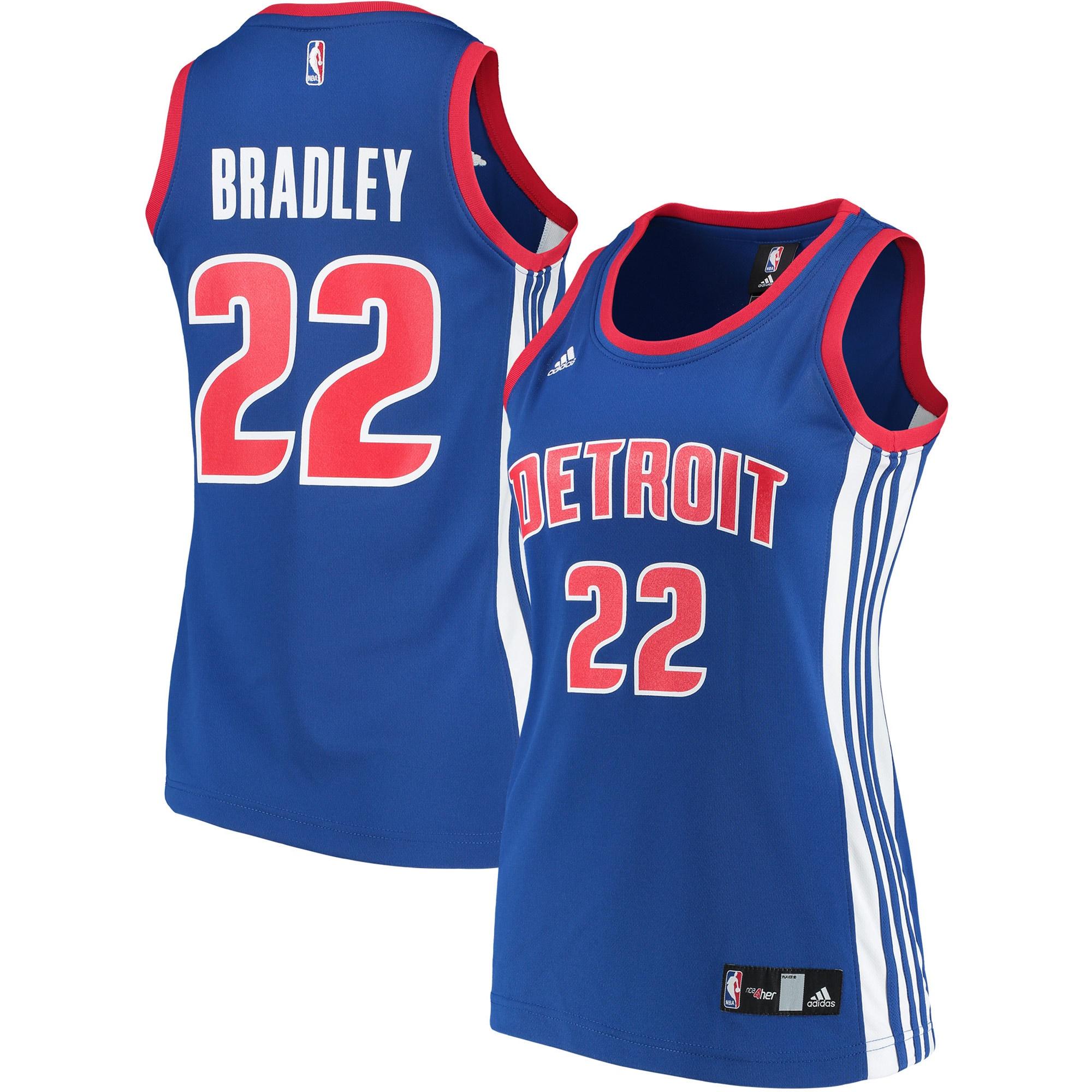 Avery Bradley Detroit Pistons adidas Women's Replica Jersey - Blue