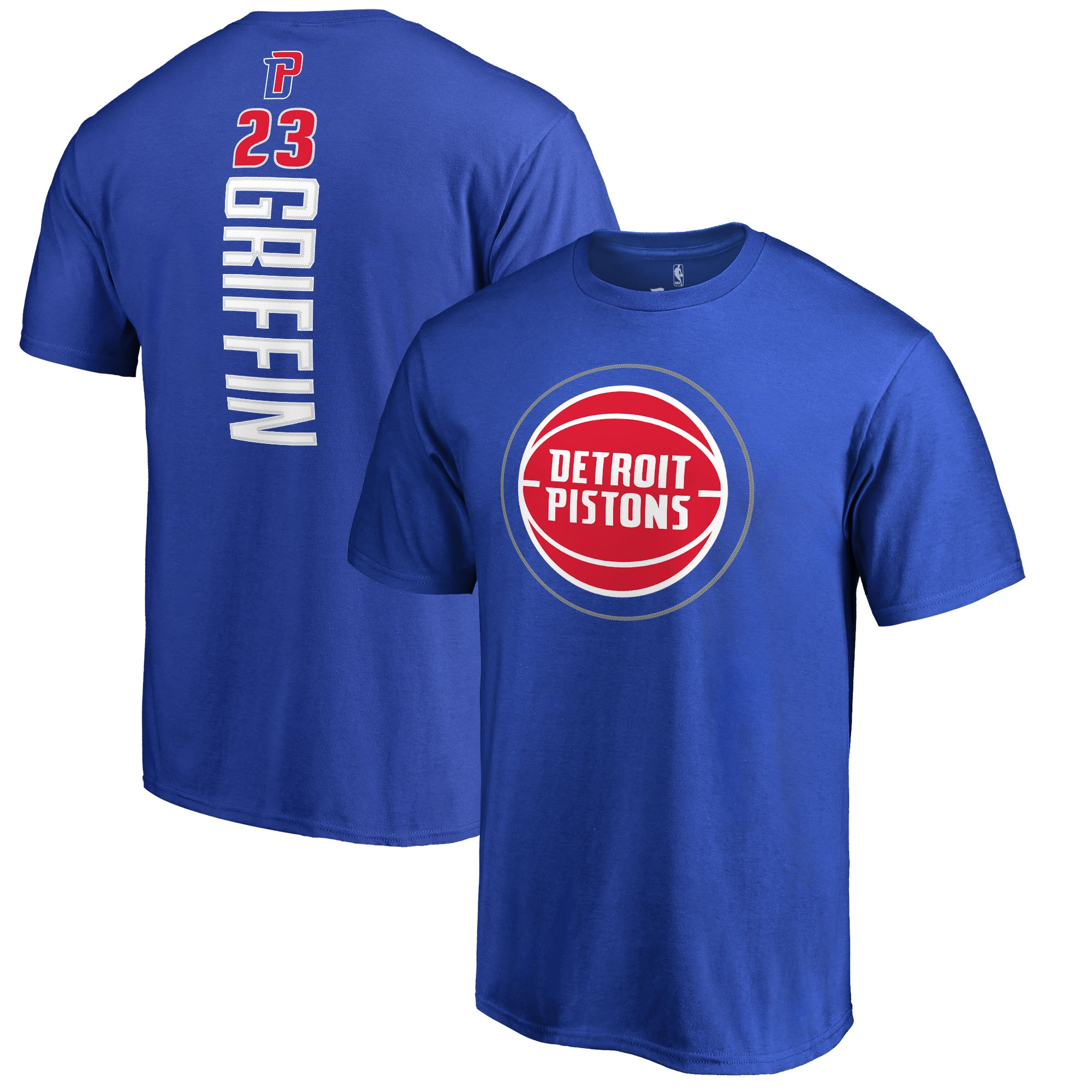 Blake Griffin Detroit Pistons Fanatics Branded Backer T-Shirt - Royal