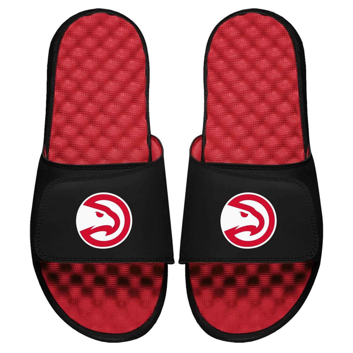 Atlanta Hawks ISlide Primary Logo Slide Sandals - Red
