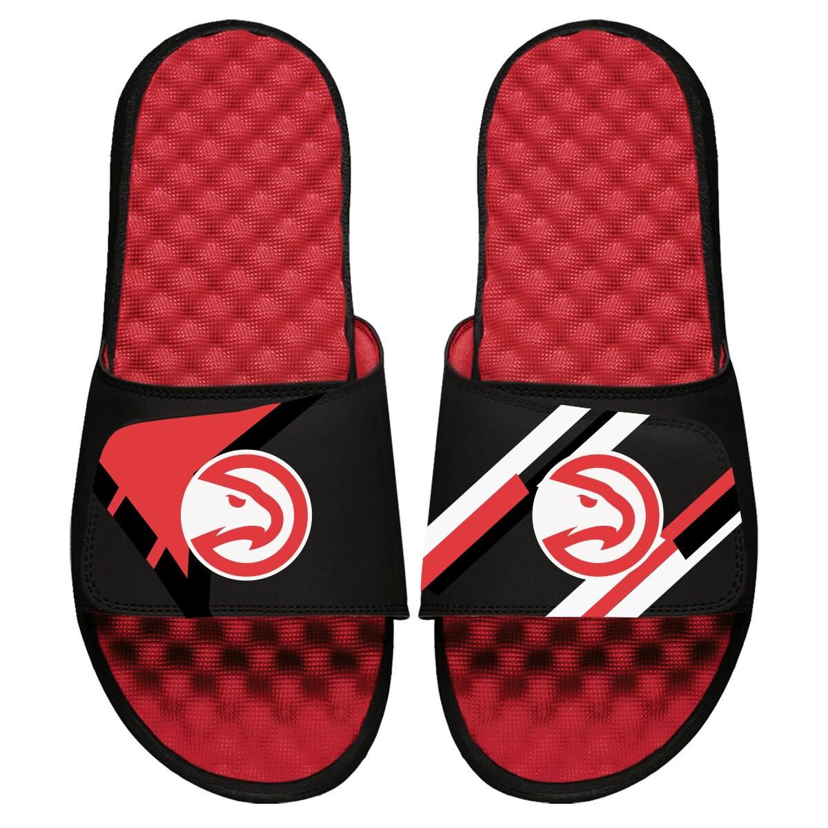 Atlanta Hawks ISlide Varsity Jacket Slide Sandals - Red