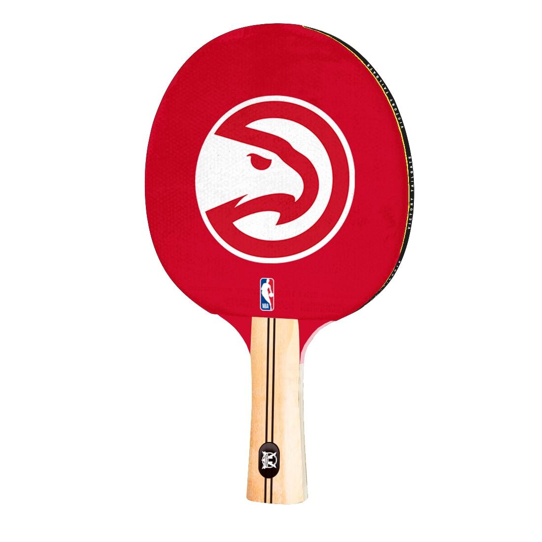 Atlanta Hawks Logo Table Tennis Paddle