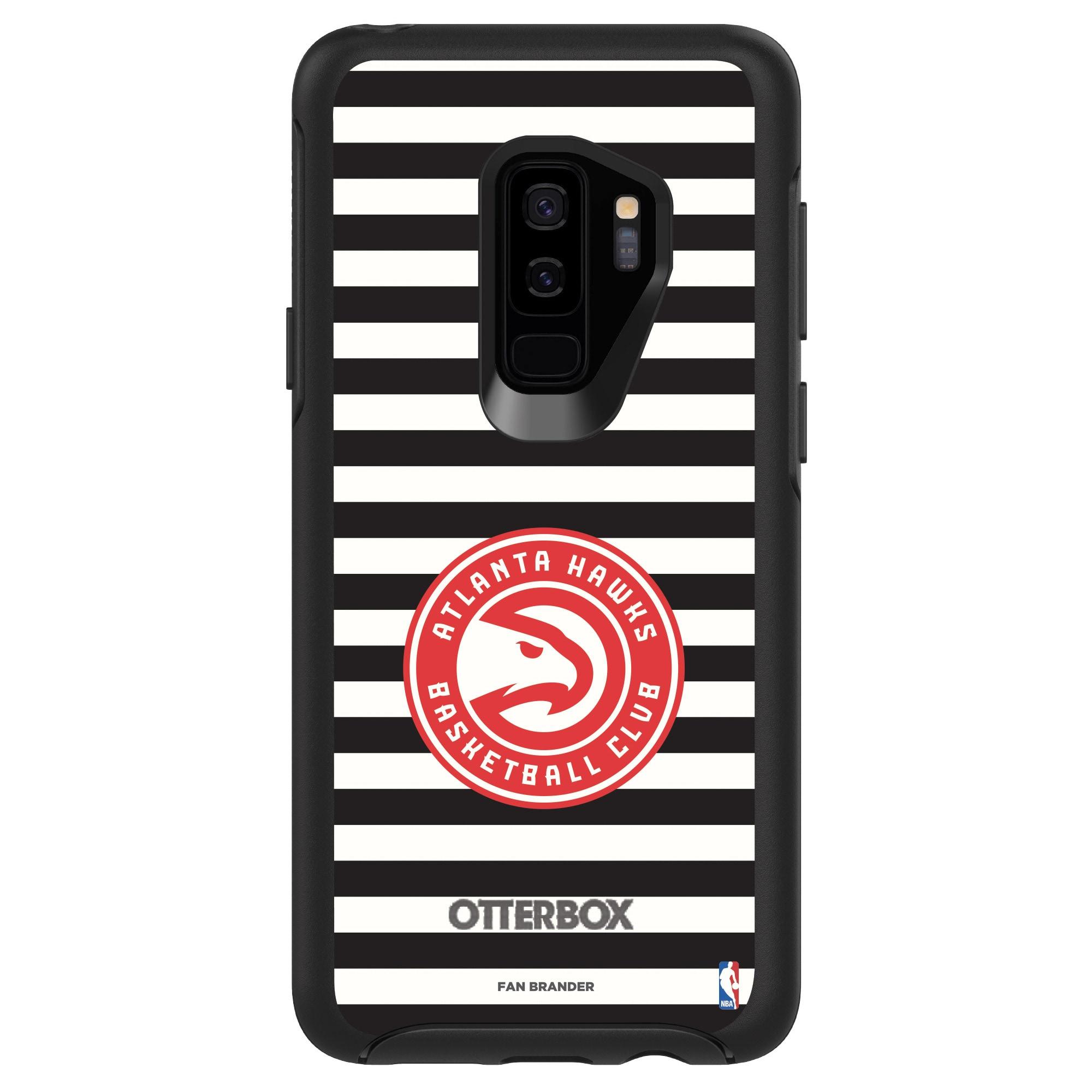 Atlanta Hawks OtterBox Galaxy Symmetry Striped Design Case