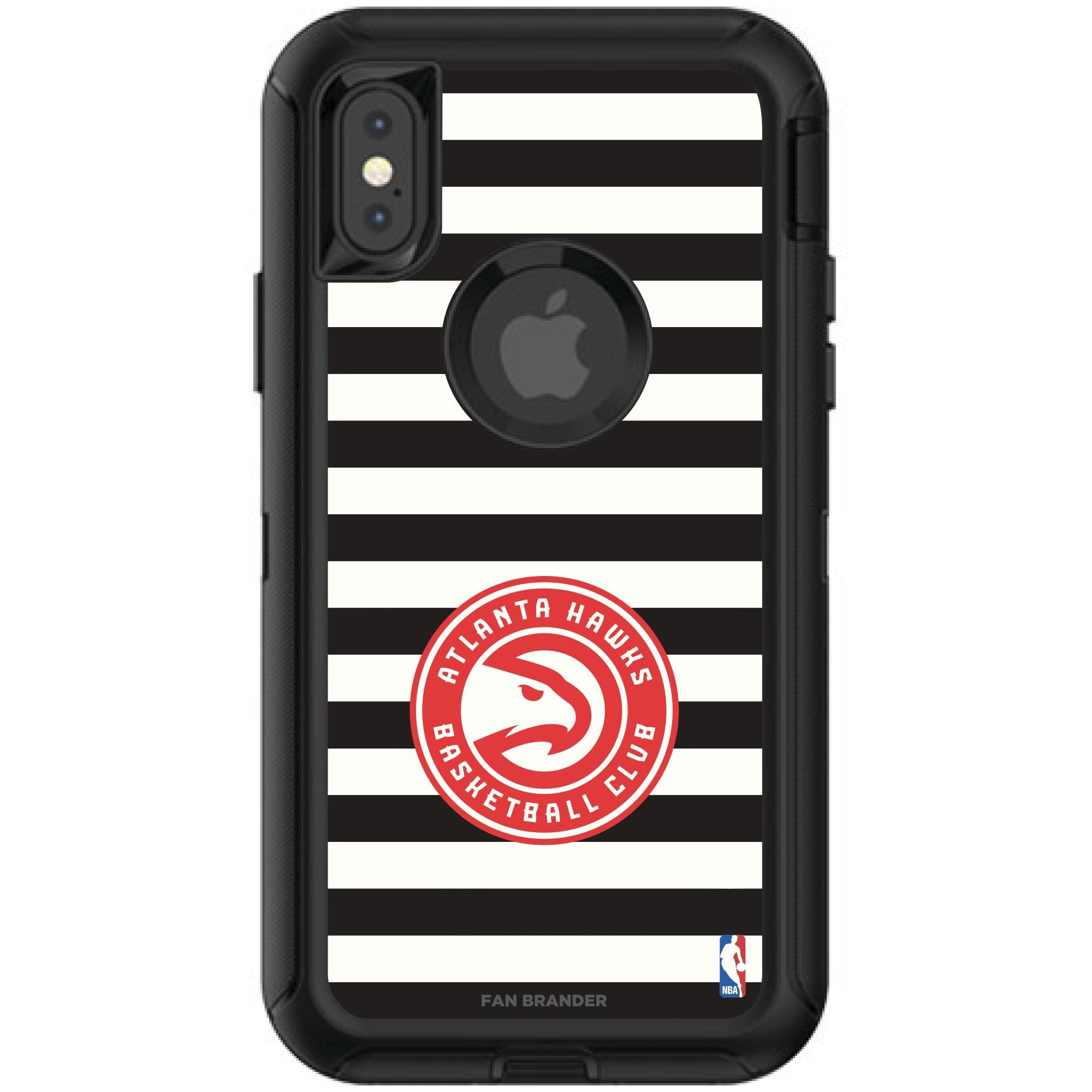 Atlanta Hawks OtterBox iPhone Defender Striped Design Case