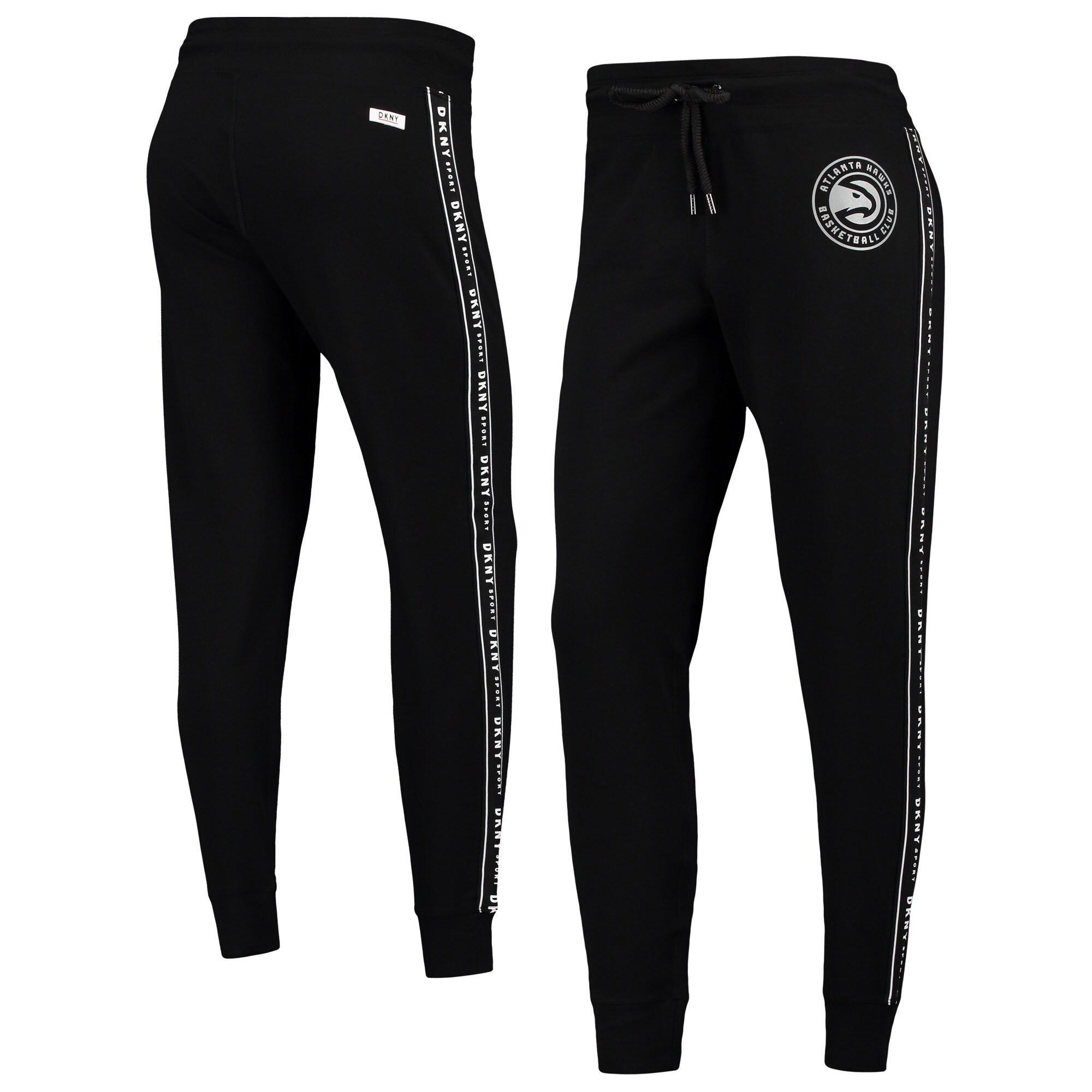 Atlanta Hawks DKNY Sport Women's Brooke Jogger Pants - Black