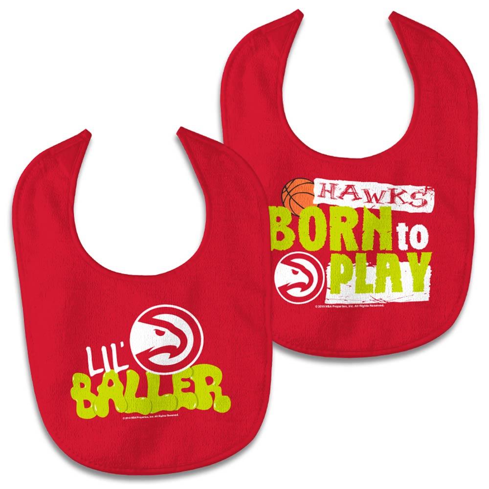 Atlanta Hawks WinCraft Newborn & Infant 2-Pack Bib Set