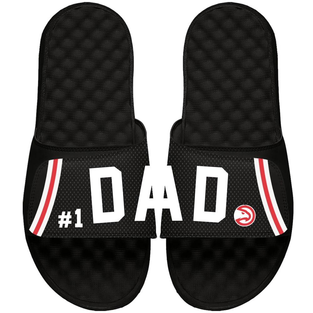 Atlanta Hawks ISlide Dad Slide Sandals - Black