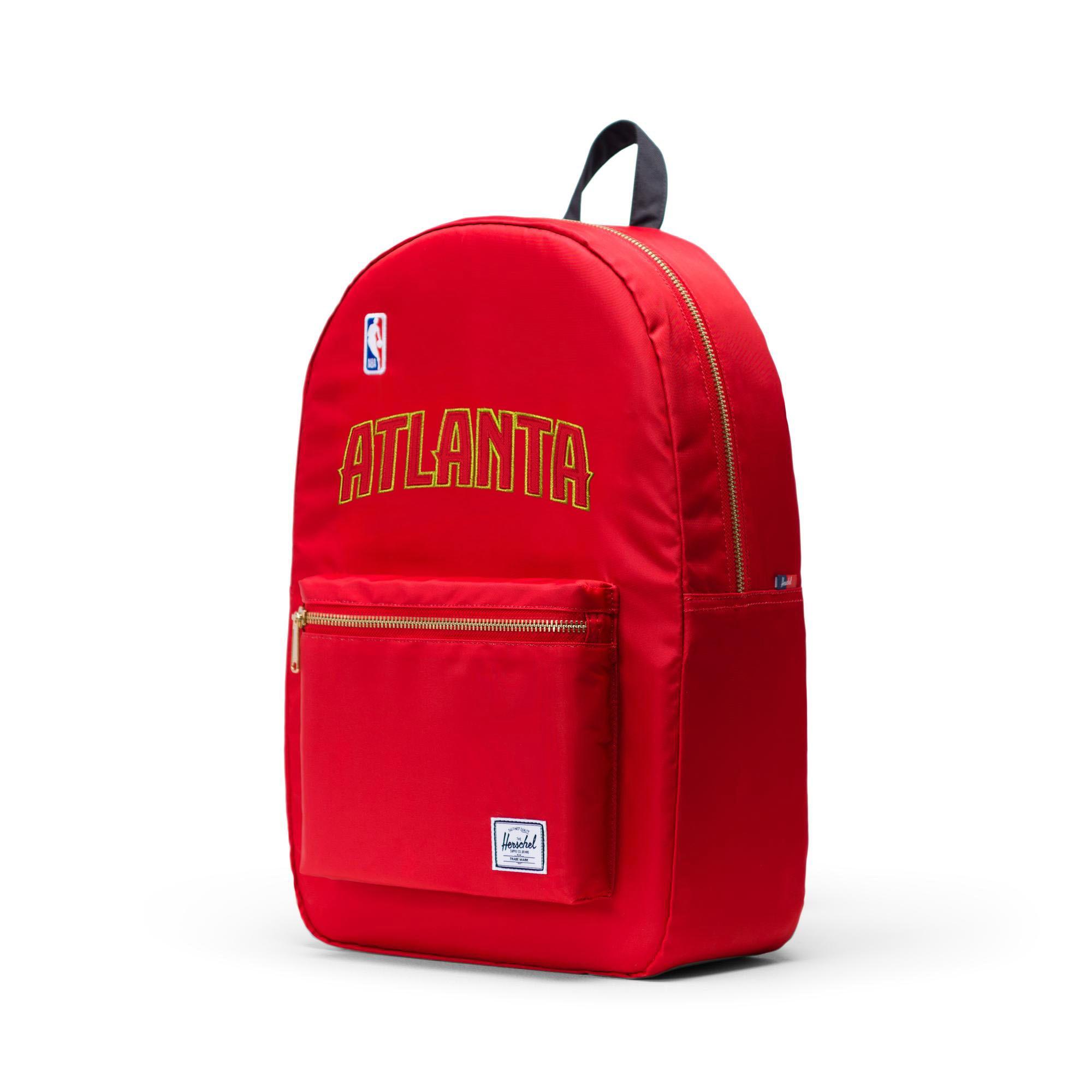 Atlanta Hawks Herschel Supply Co. Satin Settlement Backpack - Red