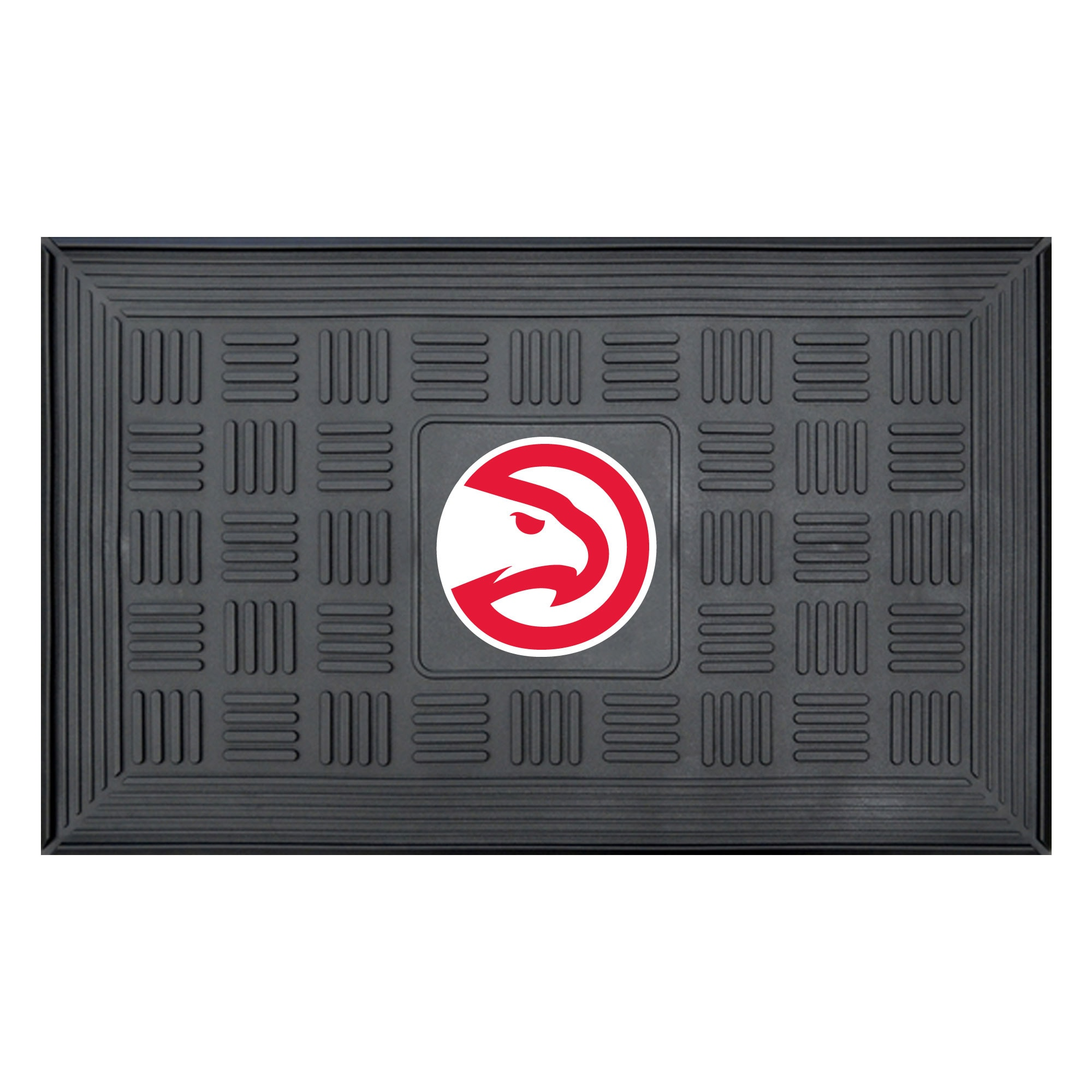 "Atlanta Hawks 19.5"" x 31.25"" Medallion Door Mat"
