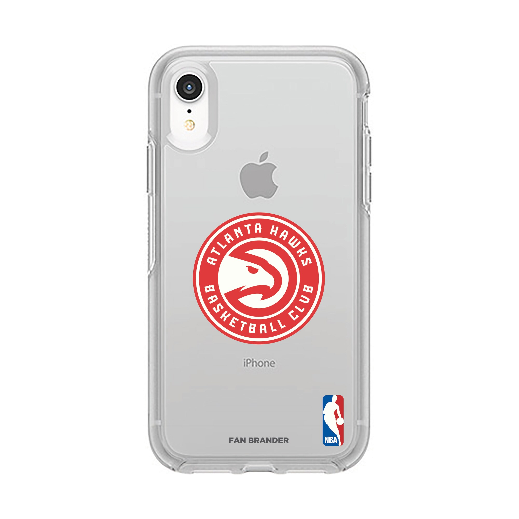 Atlanta Hawks OtterBox Clear Primary Logo iPhone Case
