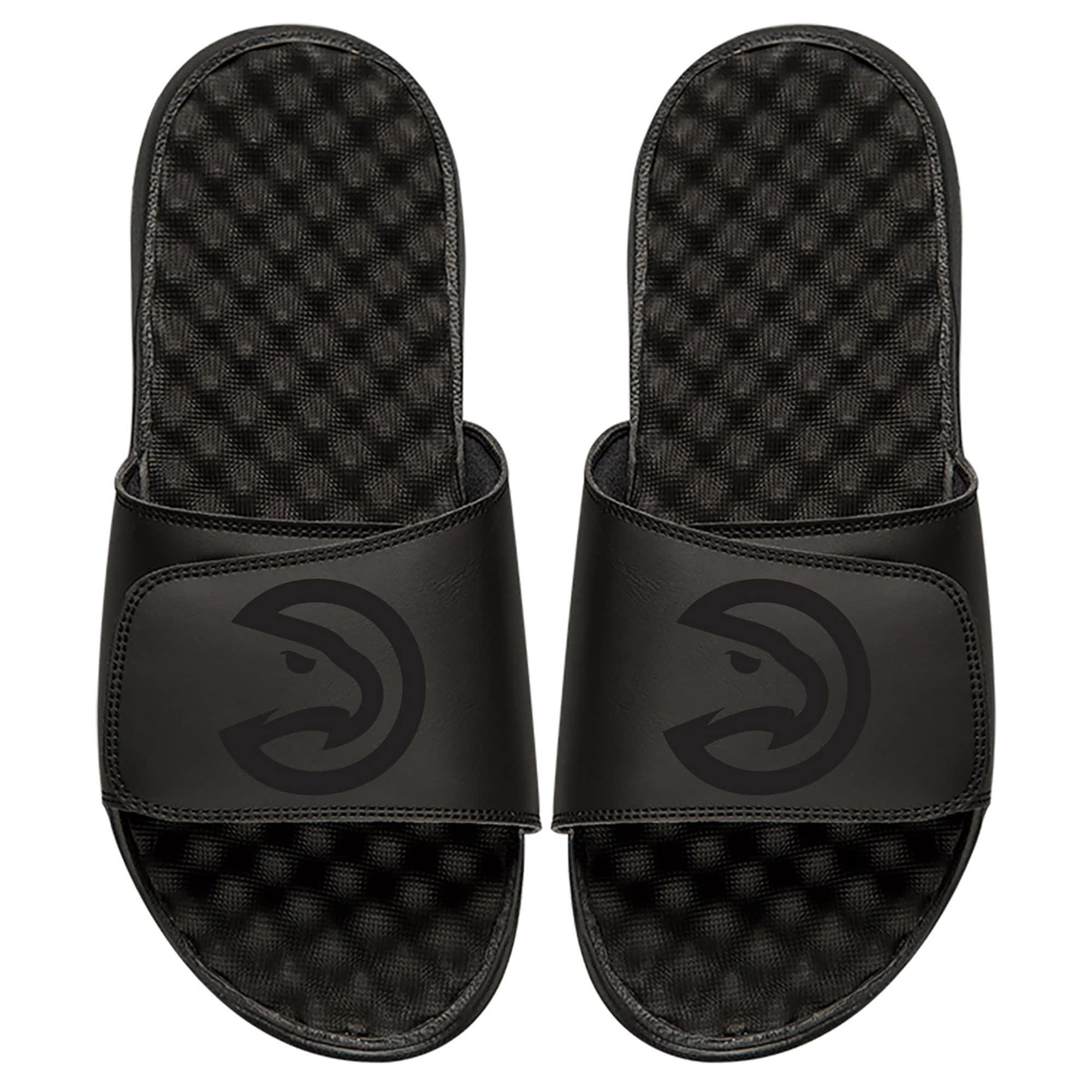 Atlanta Hawks ISlide Tonal Slide Sandals - Black