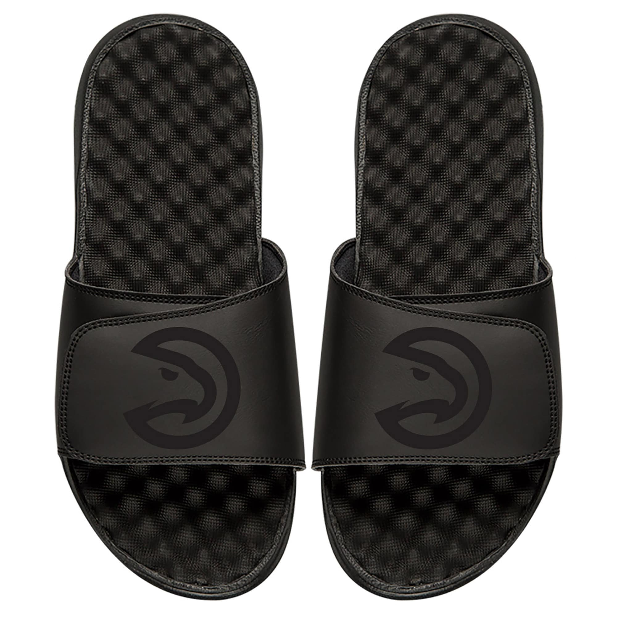 Atlanta Hawks ISlide Youth Tonal Slide Sandals - Black