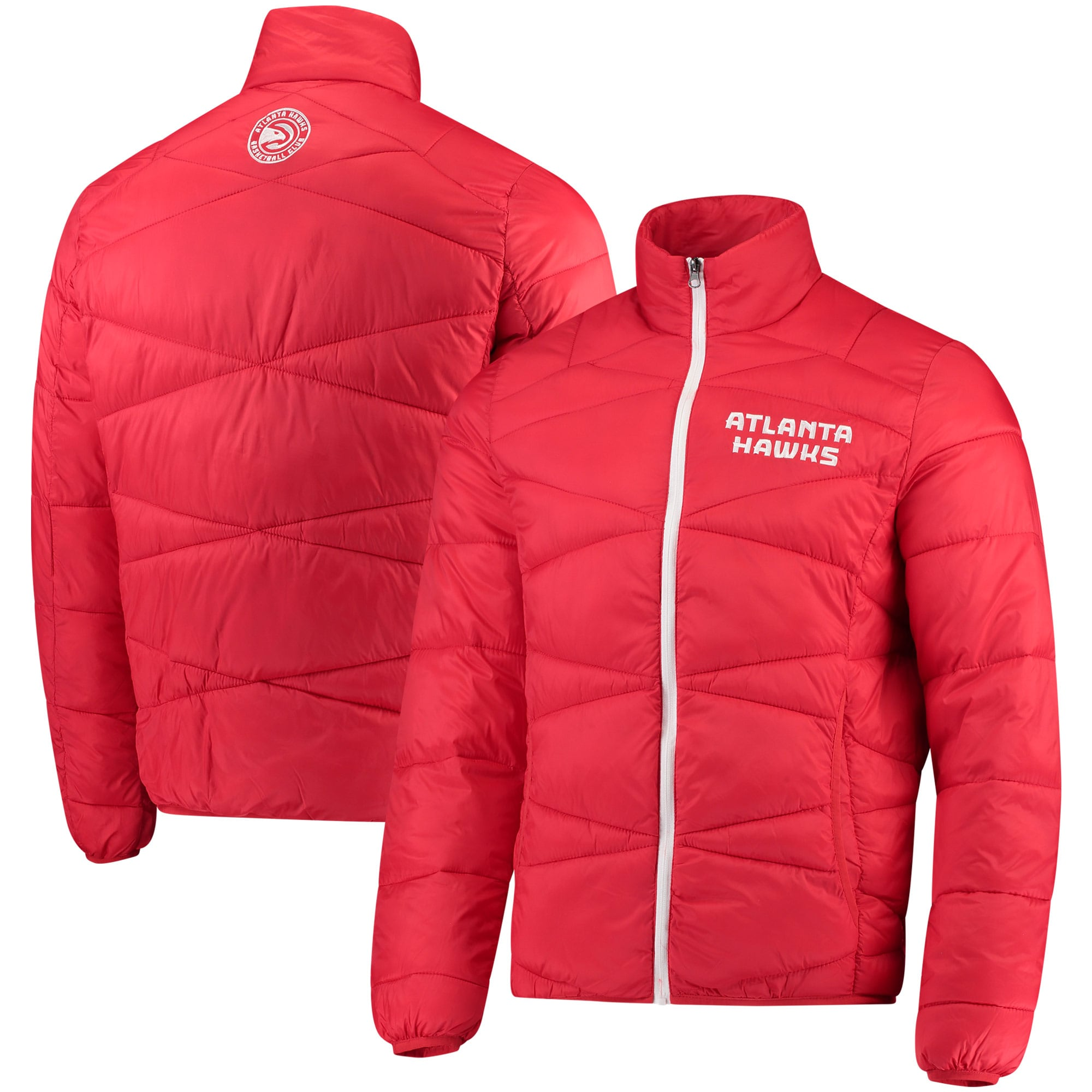 Atlanta Hawks G-III Sports by Carl Banks Blitz Full-Zip Packable Jacket - Red