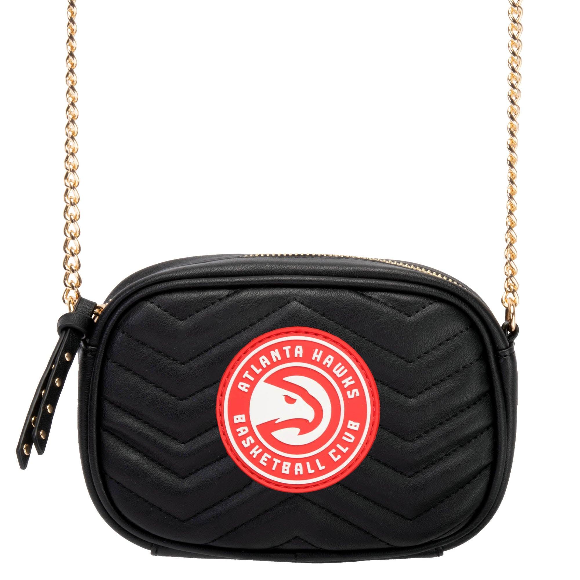 Atlanta Hawks Women's Crossbody Bag - Black