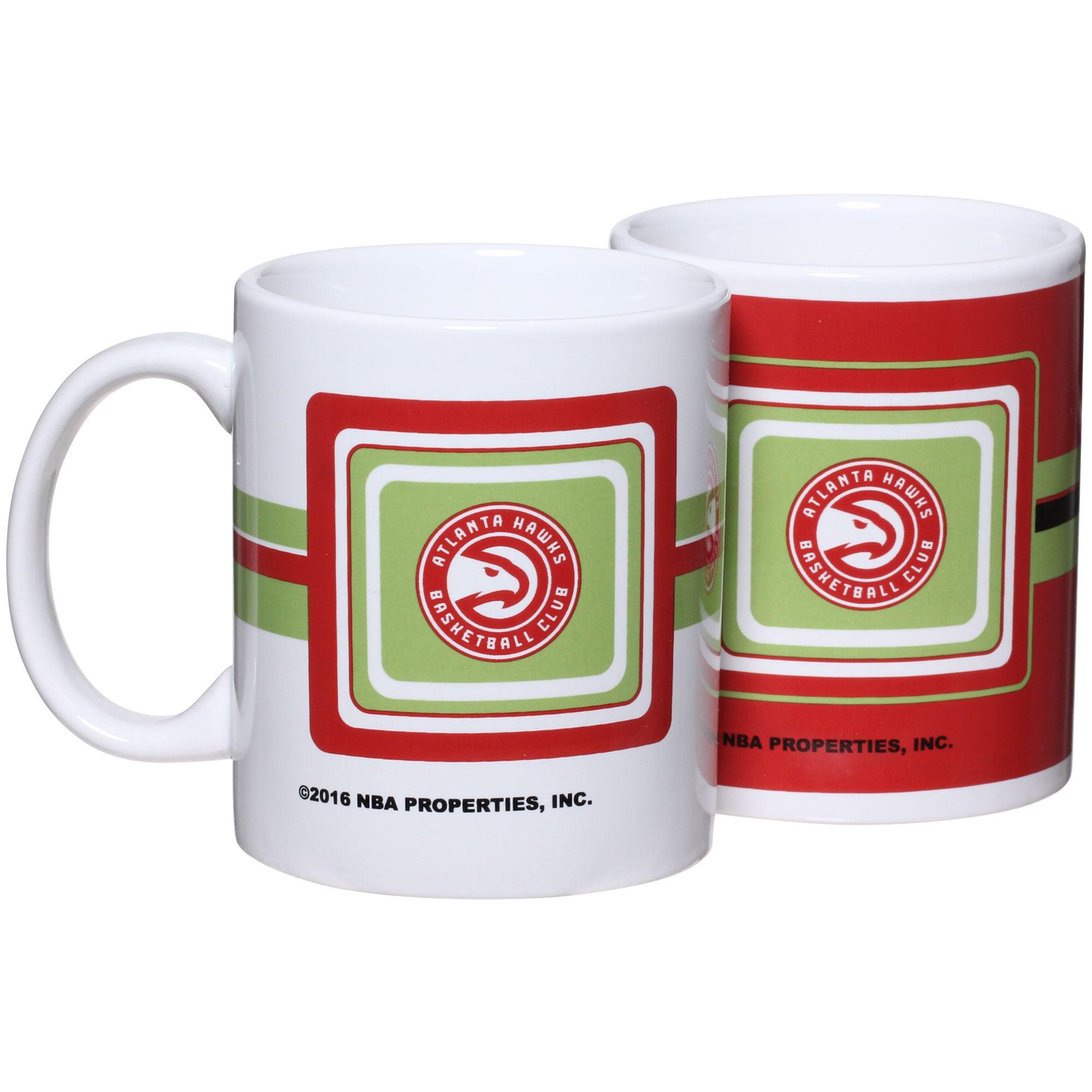 Atlanta Hawks 11oz. Two-Pack Mug Set