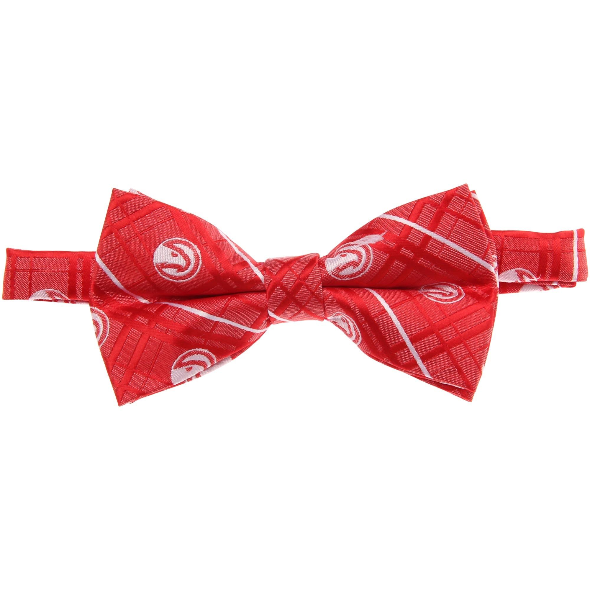 Atlanta Hawks Oxford Bow Tie - Red