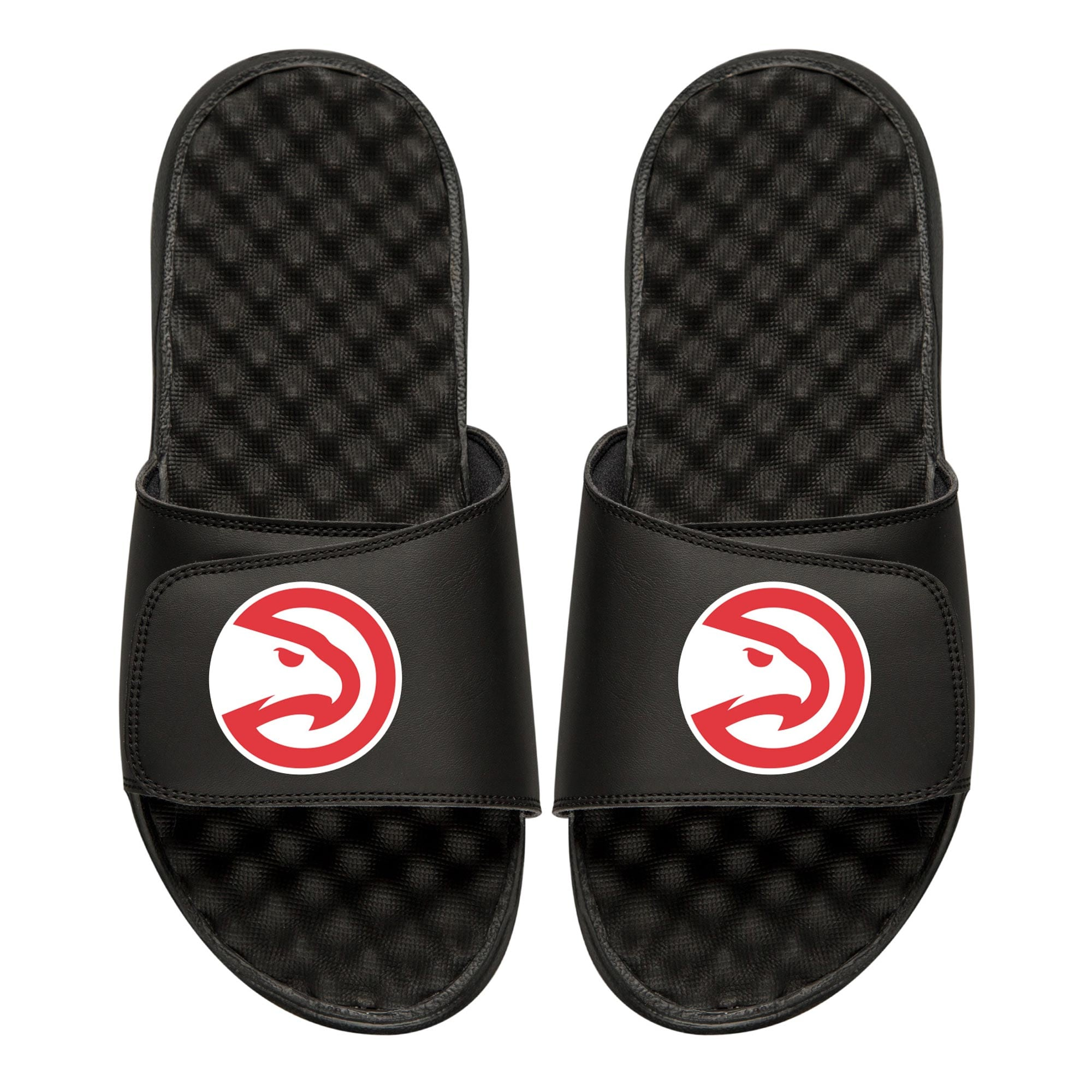 Atlanta Hawks Youth Primary iSlide Sandals - Black