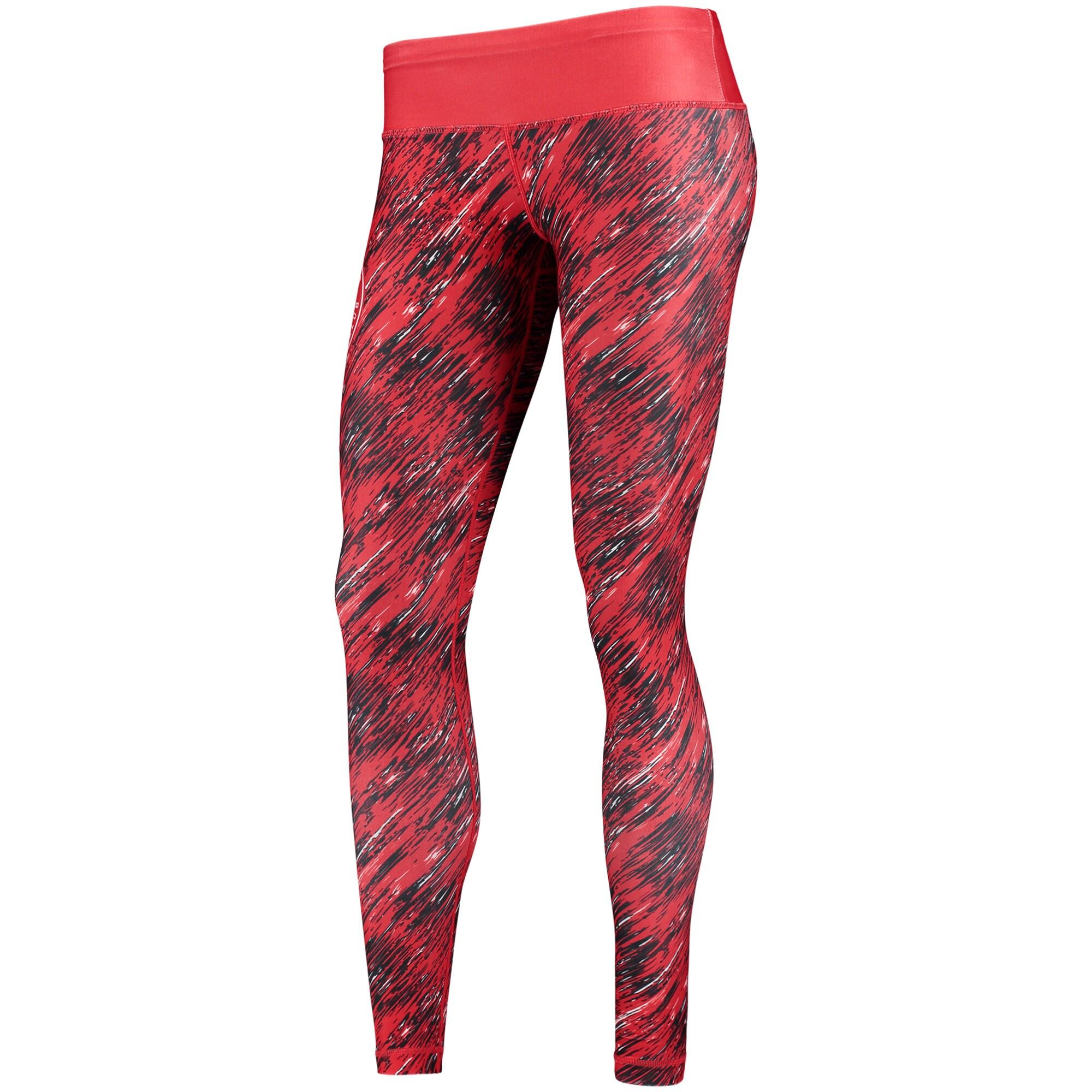 Atlanta Hawks Women's Static Rain Leggings - Red