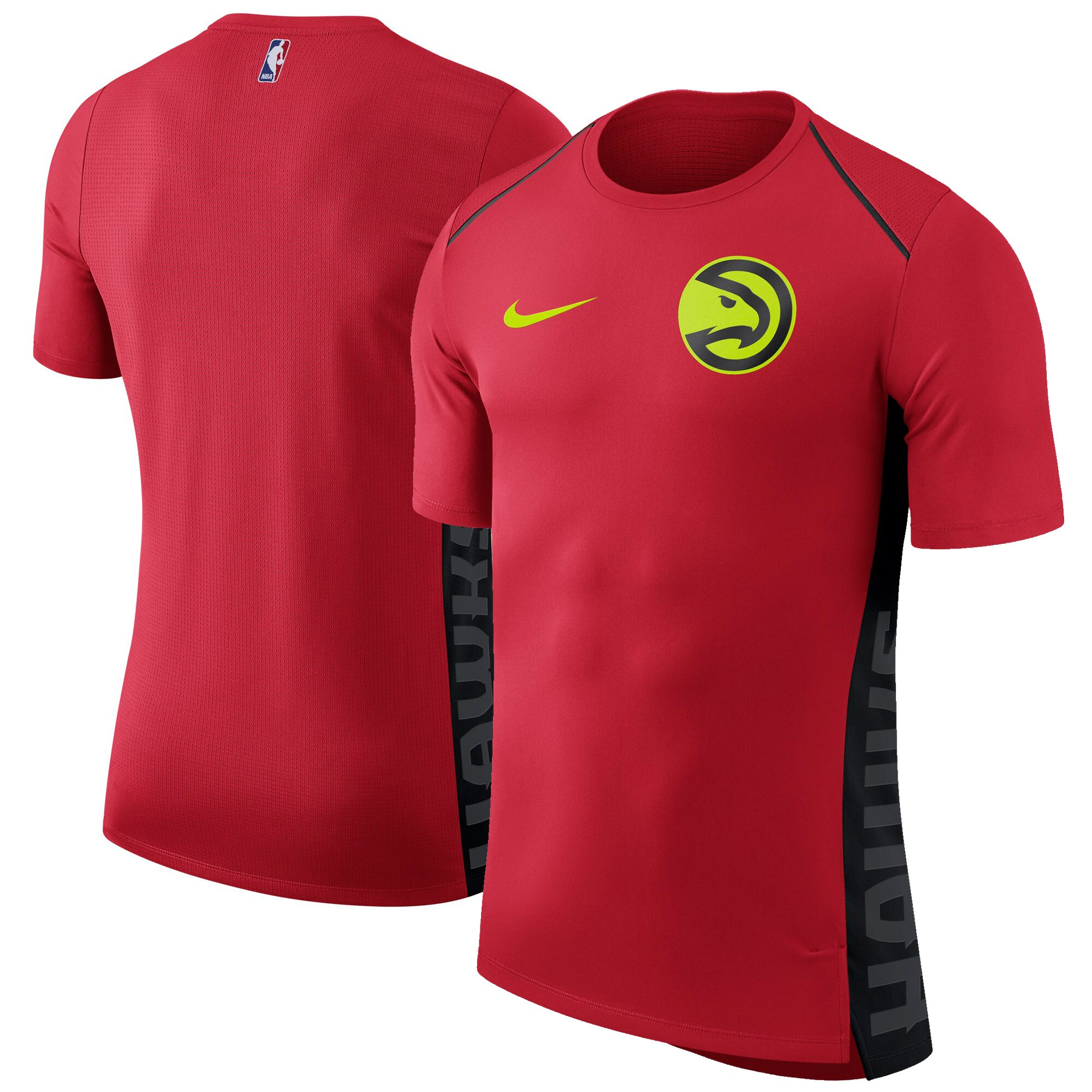 Atlanta Hawks Nike Elite Shooter Performance T-Shirt - Red