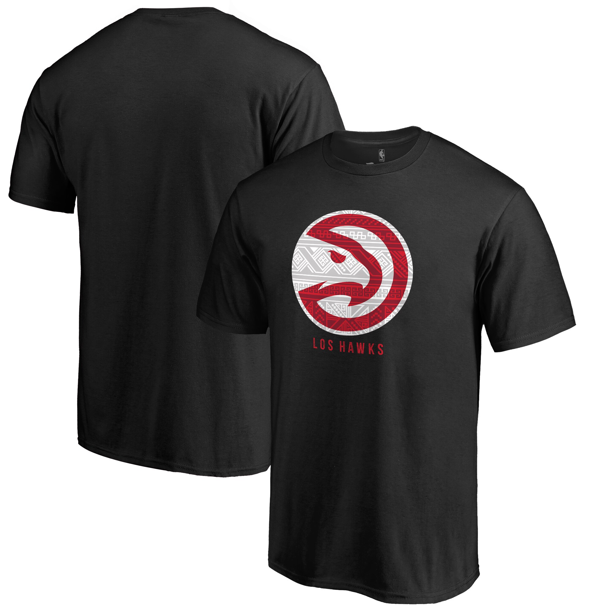 Atlanta Hawks Fanatics Branded 2017 Noches Éne-Bé-A T-Shirt - Black