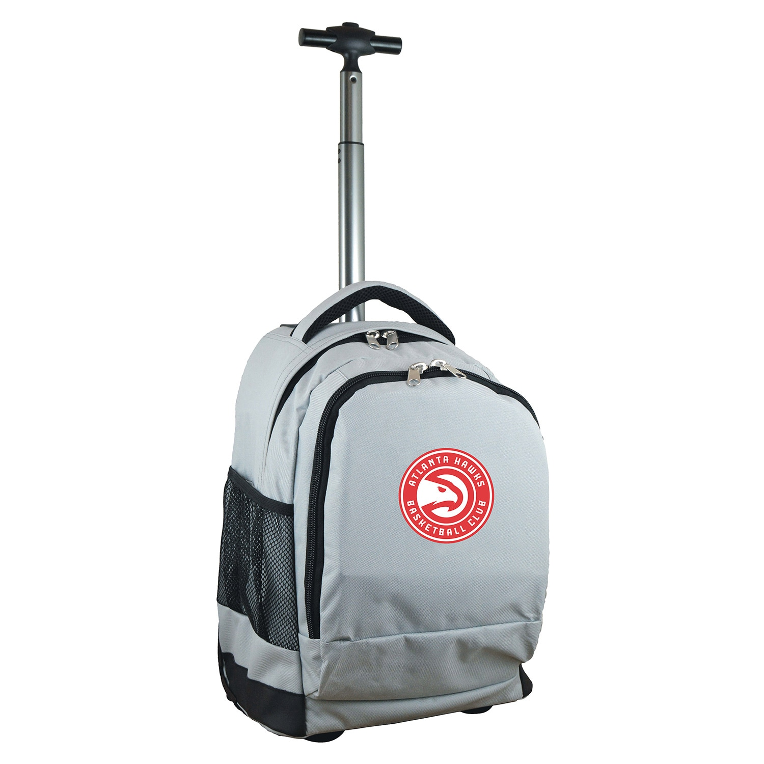 Atlanta Hawks 19'' Premium Wheeled Backpack - Gray