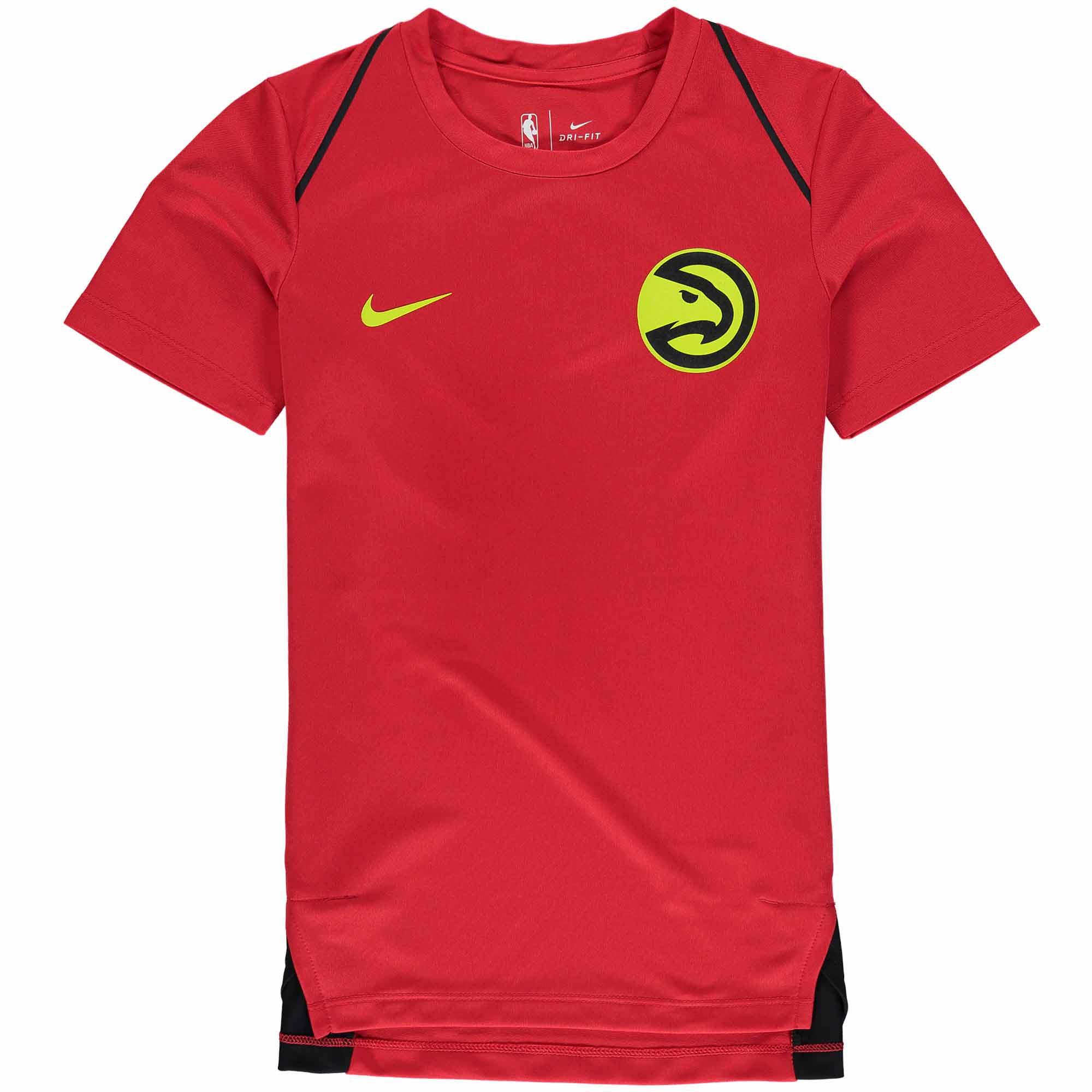 Atlanta Hawks Nike Youth Hyperelite Shooter Performance T-Shirt - Red