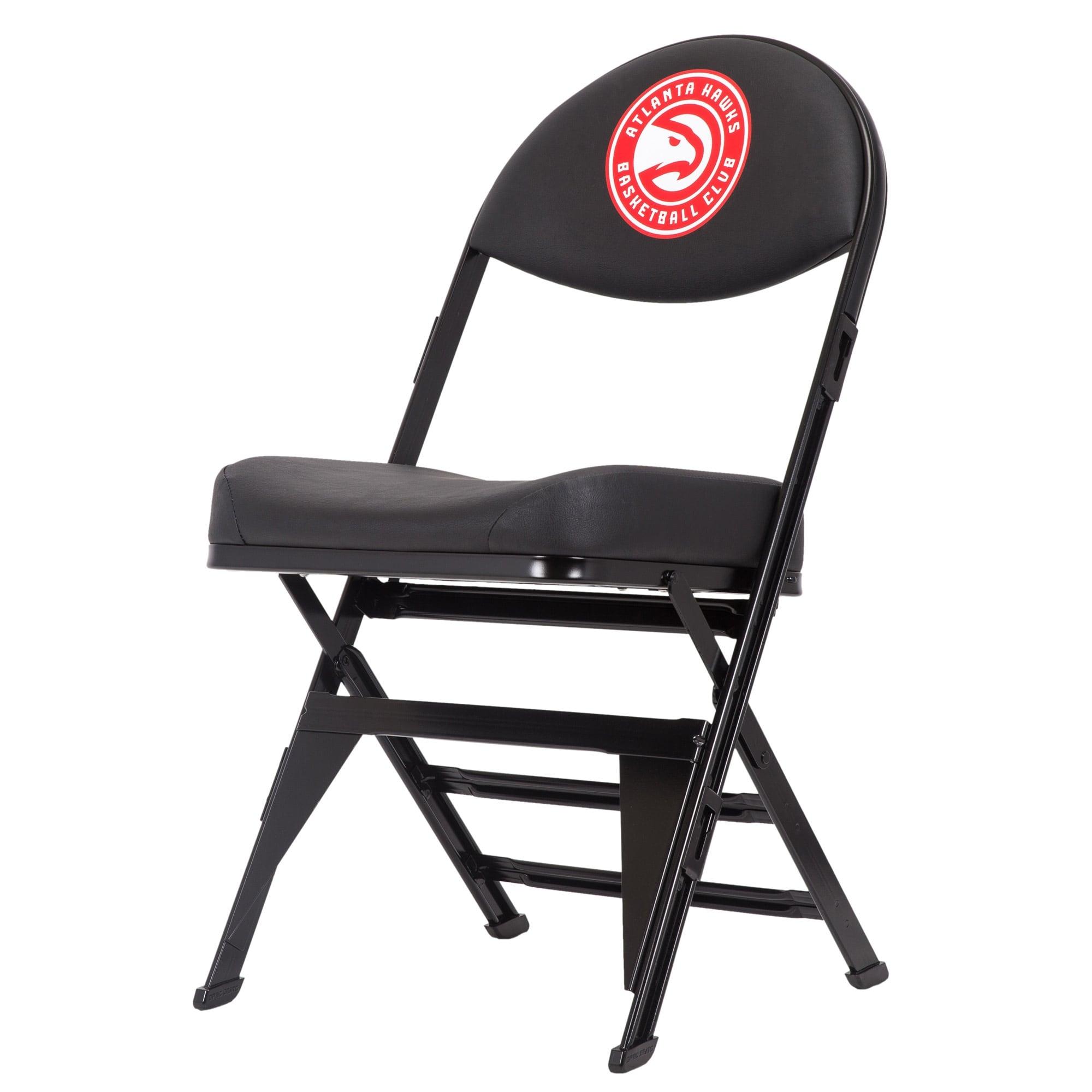 Atlanta Hawks X-Frame Court Side Folding Chair