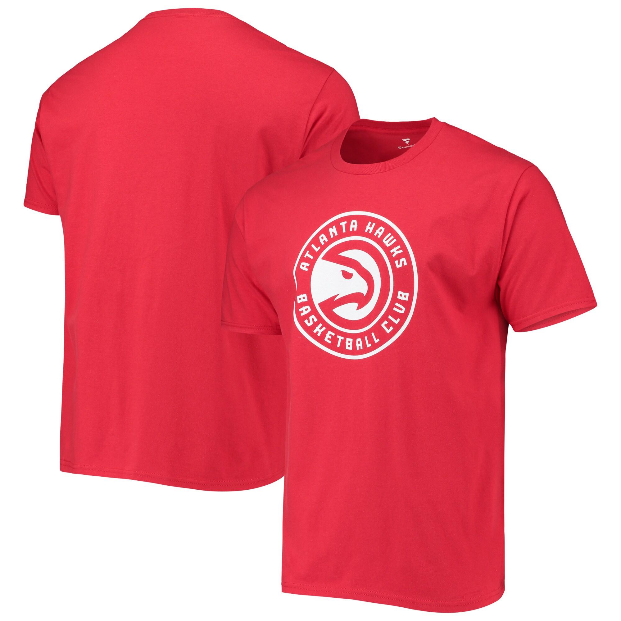 Atlanta Hawks Primary Logo T-Shirt - Red