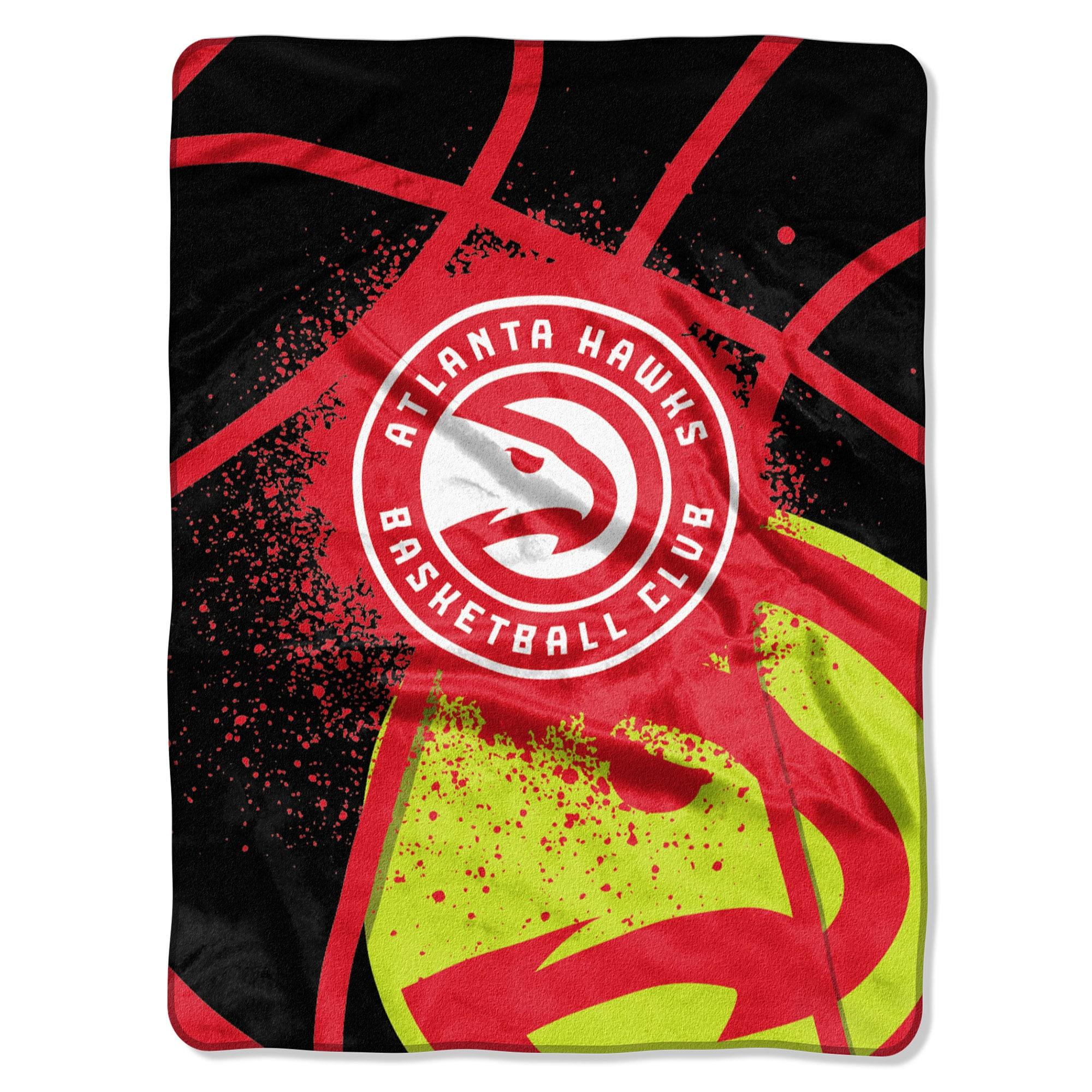 Atlanta Hawks Northwest Company Shadow Play Raschel Plush Blanket