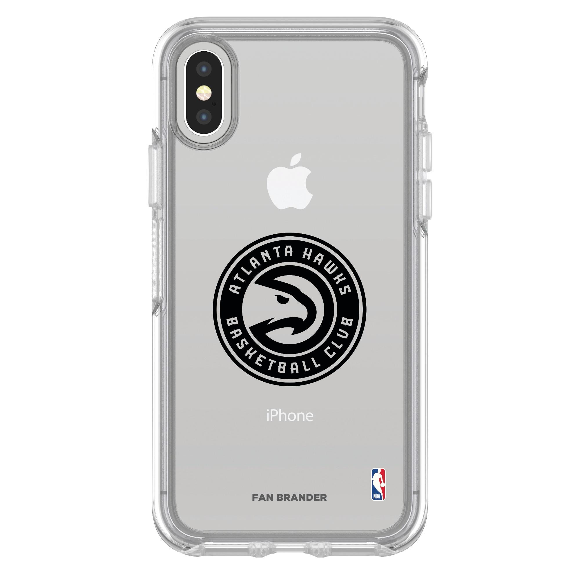 Atlanta Hawks OtterBox Clear iPhone Symmetry Case