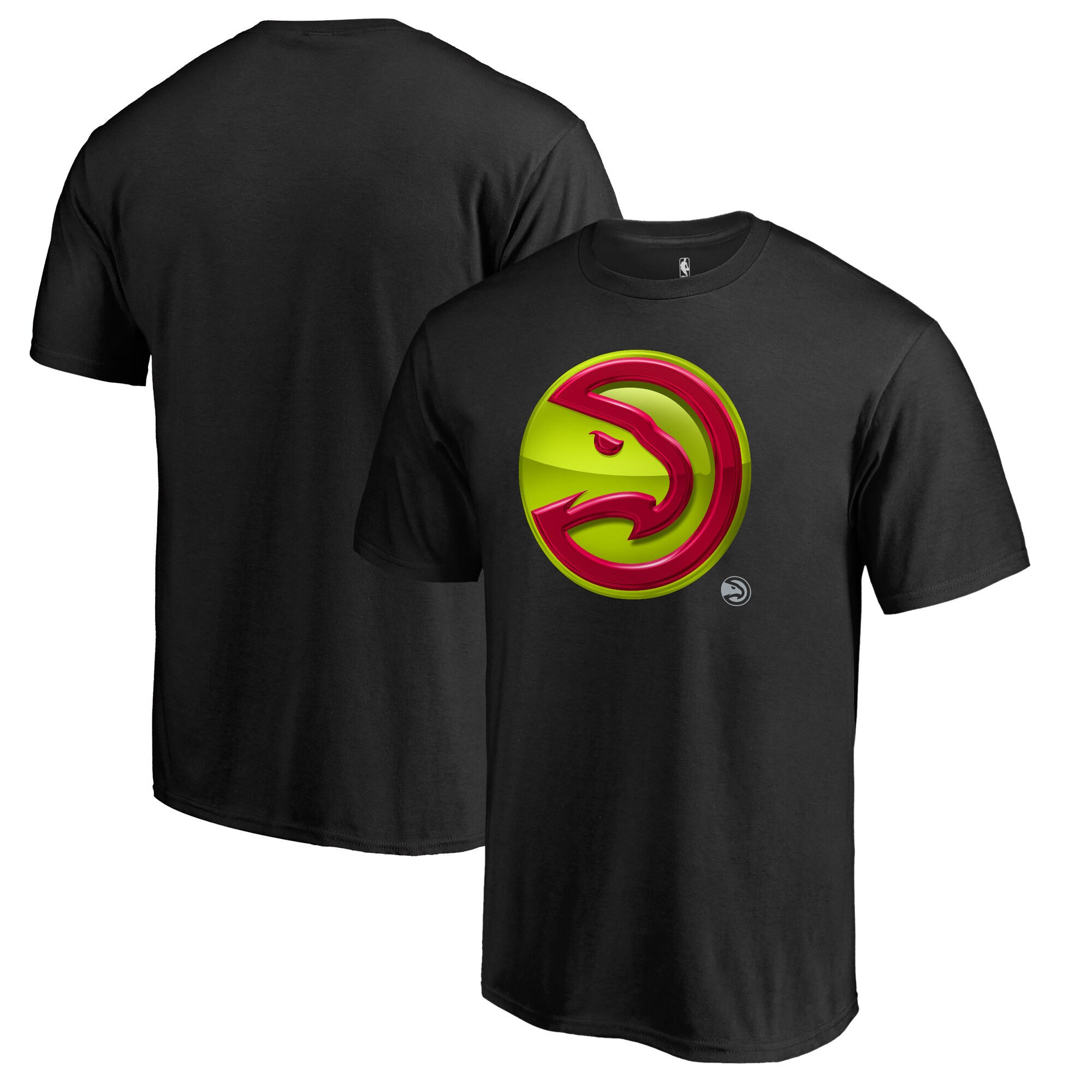 Atlanta Hawks Fanatics Branded Midnight Mascot Big and Tall T-Shirt - Black