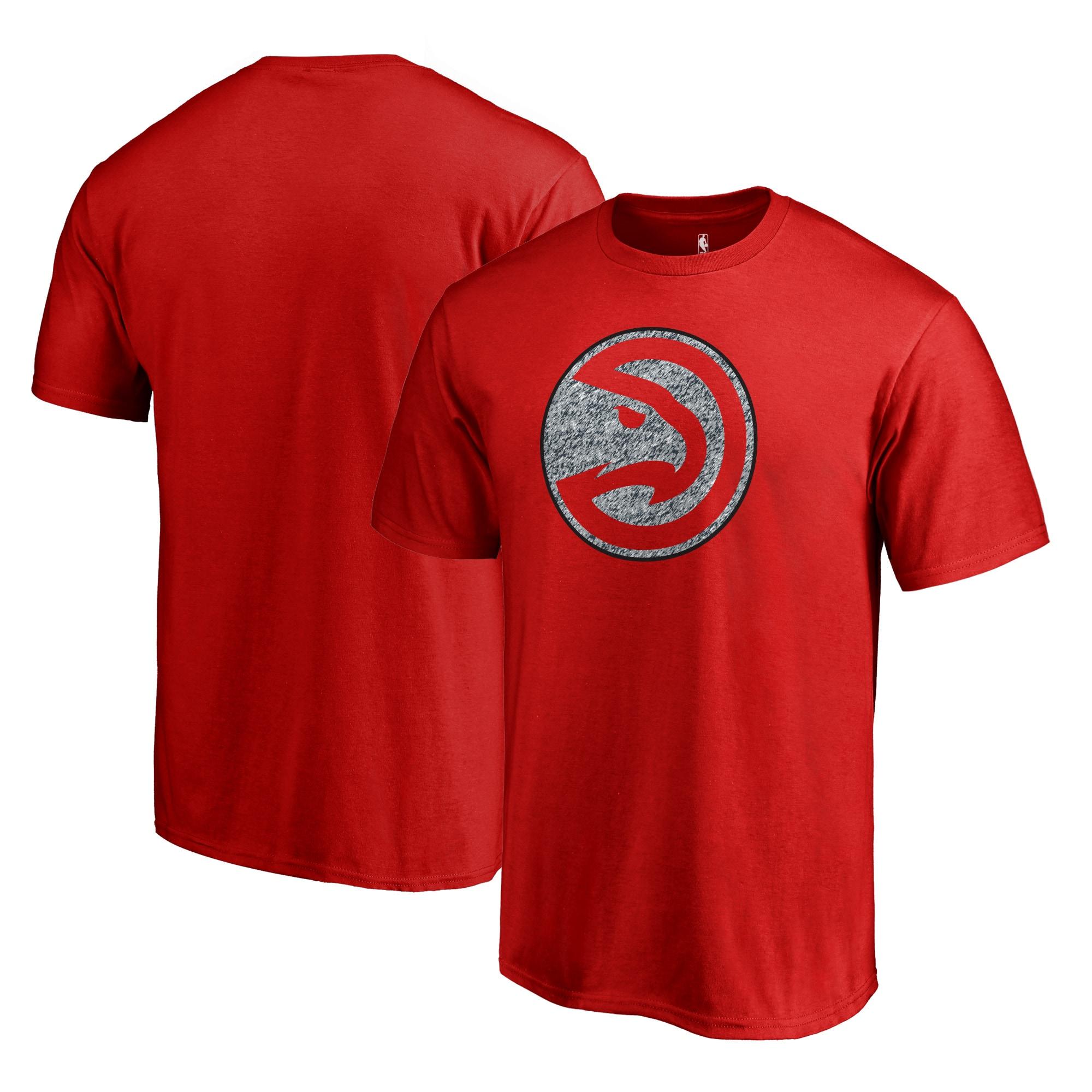 Atlanta Hawks Fanatics Branded Static Logo Big and Tall T-Shirt - Red