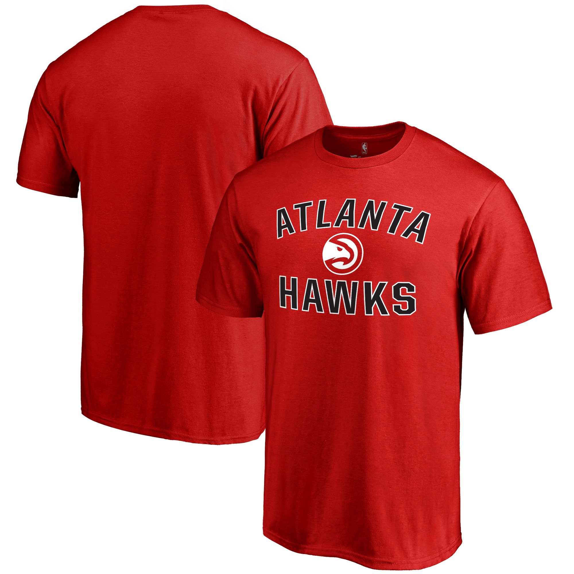 Atlanta Hawks Big & Tall Victory Arch T-Shirt - Red