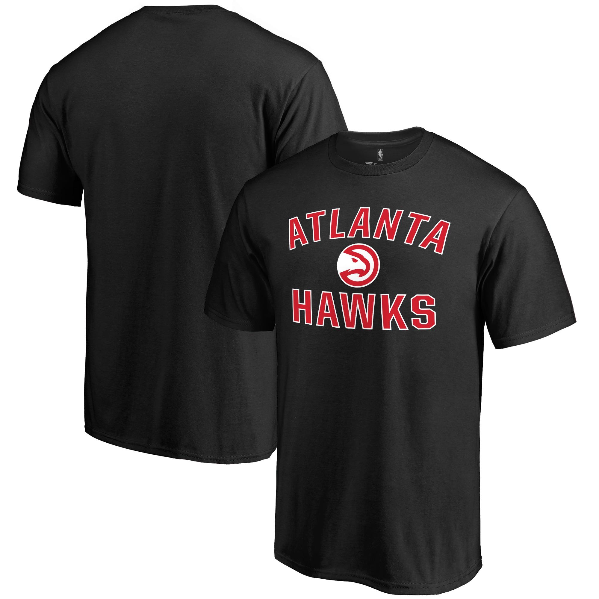 Atlanta Hawks Big & Tall Victory Arch T-Shirt - Black