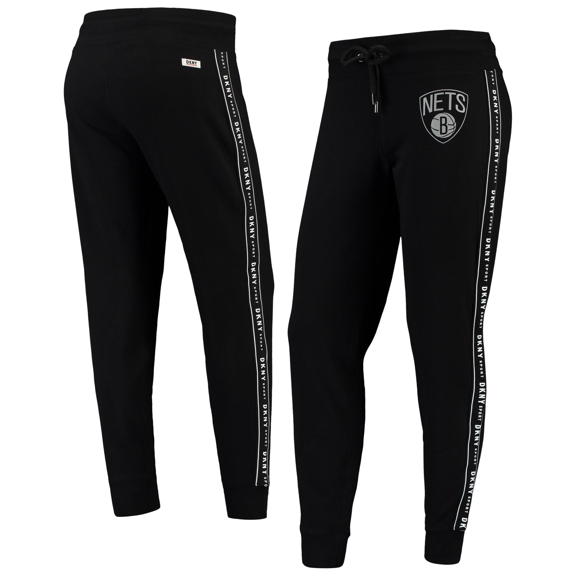 Brooklyn Nets DKNY Sport Women's Brooke Jogger Pants - Black