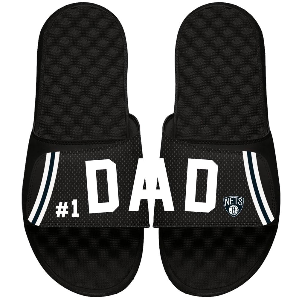 Brooklyn Nets ISlide Dad Slide Sandals - Black