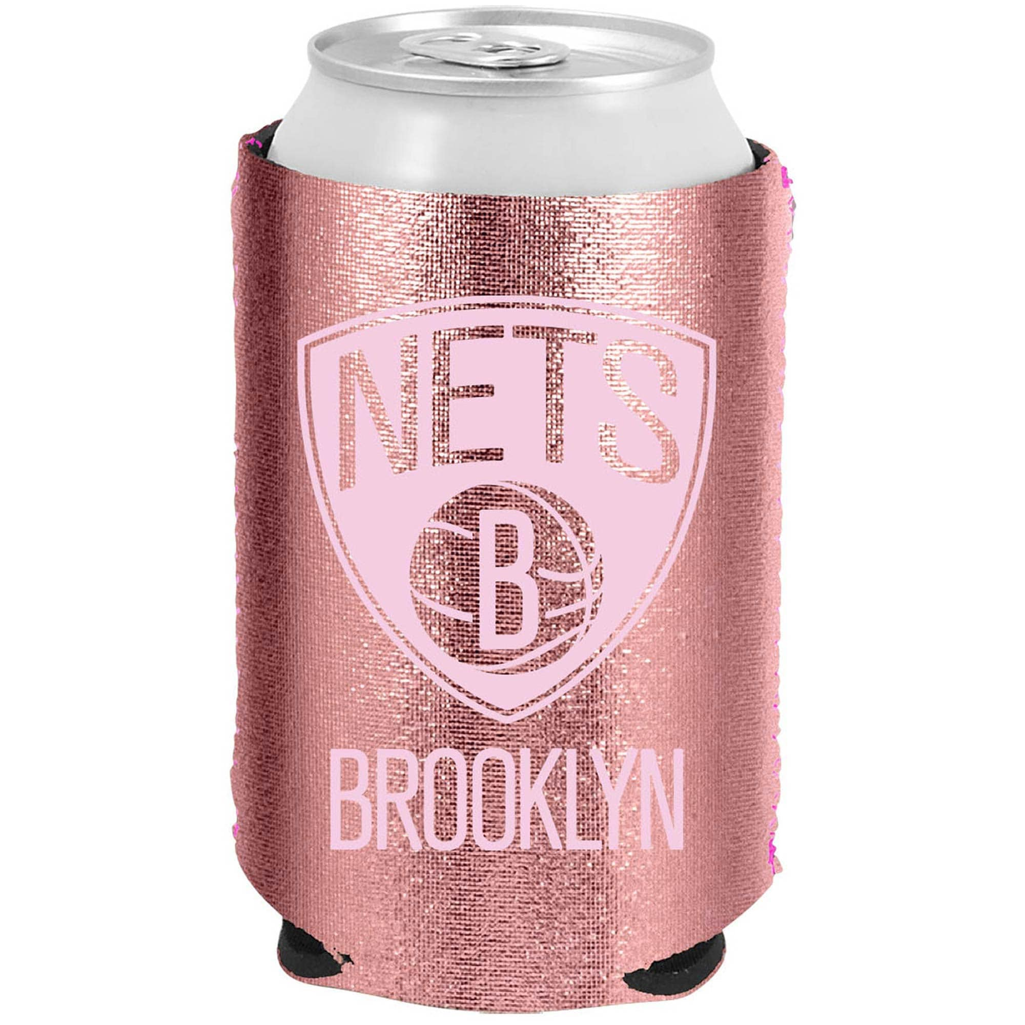 Brooklyn Nets 12oz. Rose Gold Can Cooler