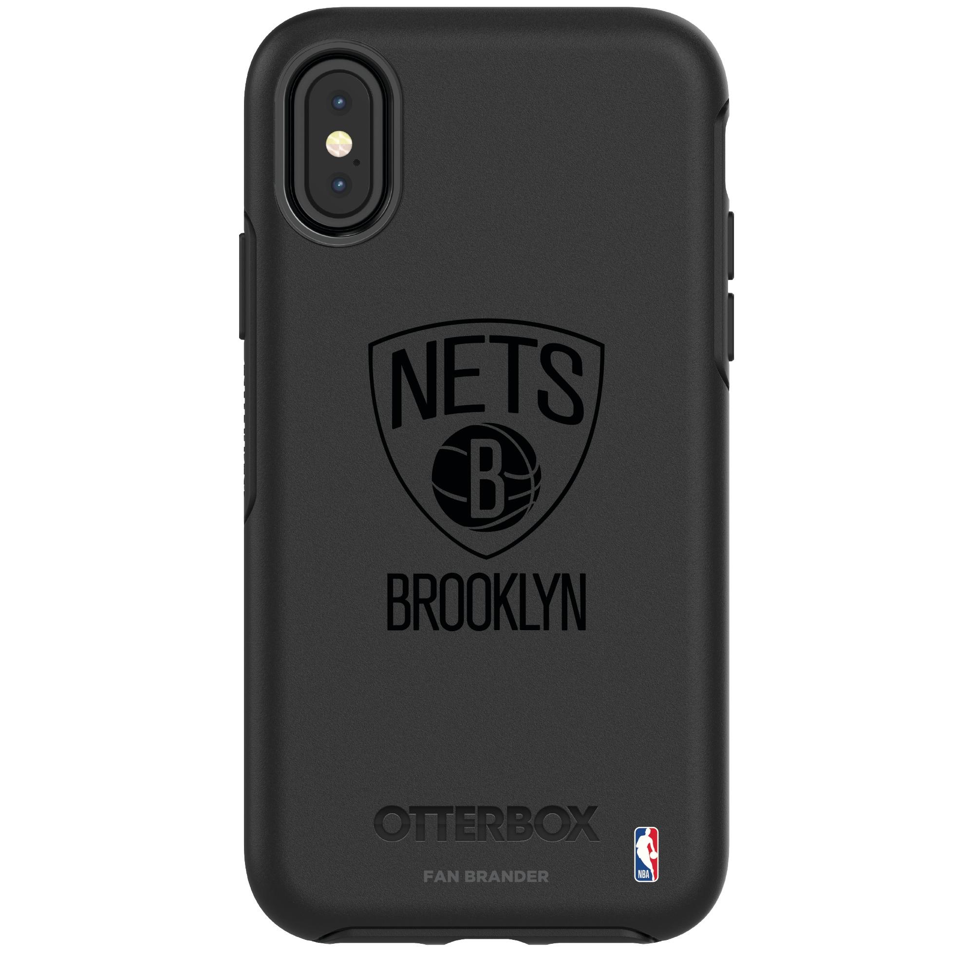 Brooklyn Nets OtterBox iPhone Tonal Symmetry Case