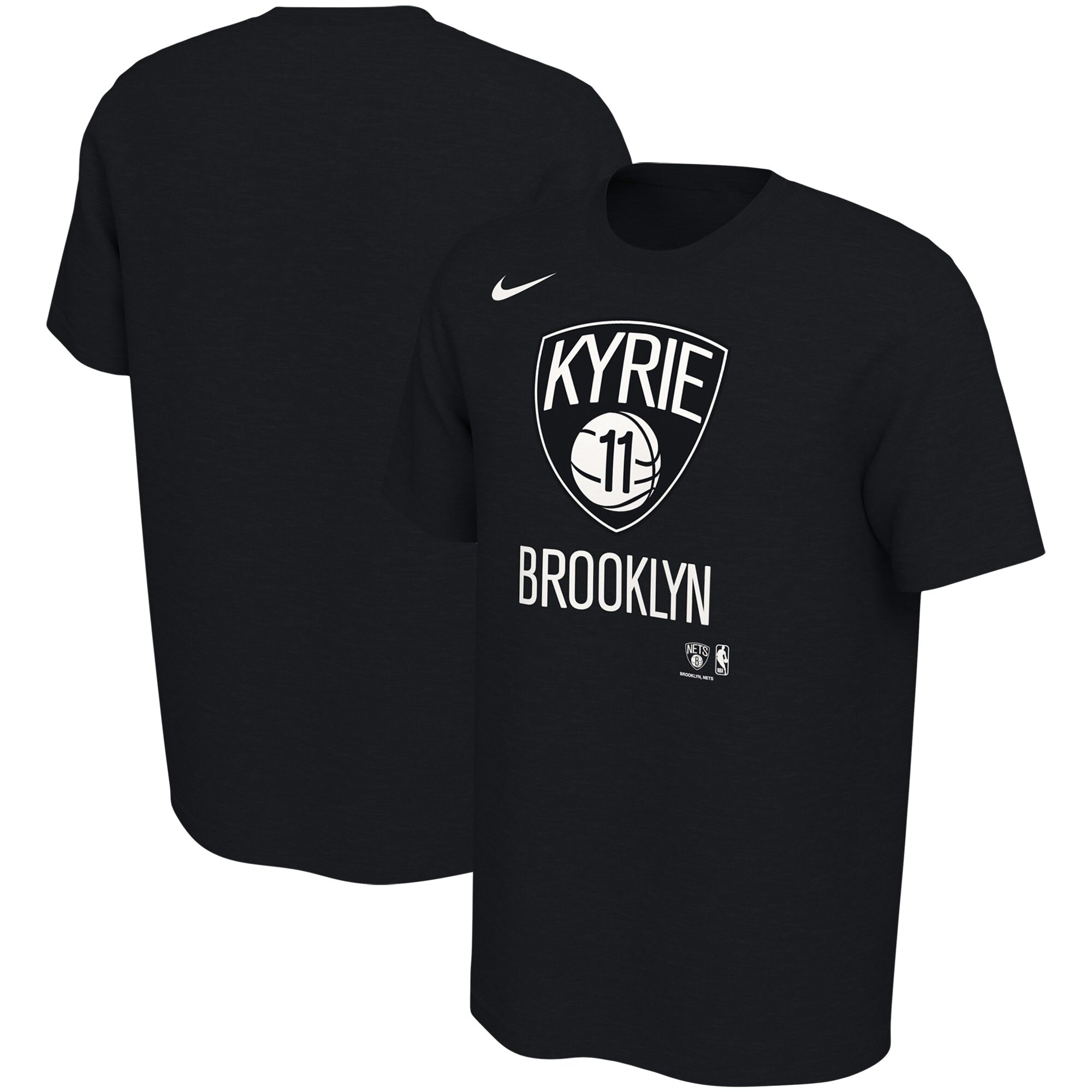 Kyrie Irving Brooklyn Nets Nike New City Player Name & Number T-Shirt - Black