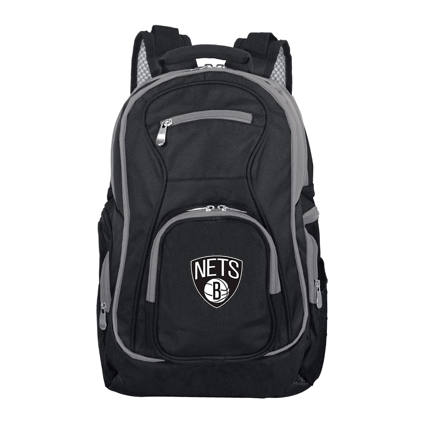 Brooklyn Nets Trim Color Laptop Backpack - Black