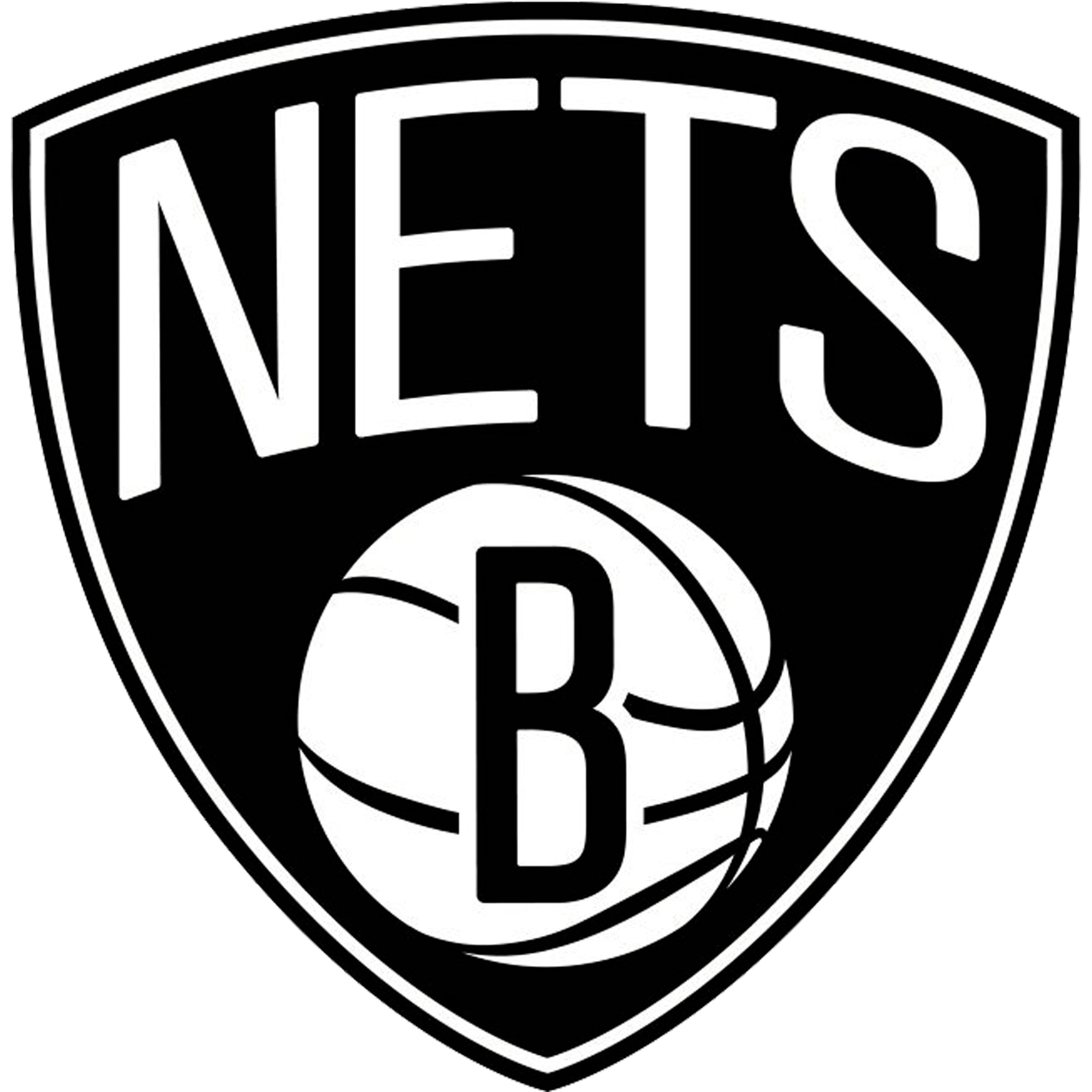 Brooklyn Nets Fathead Logo Giant Removable Decal