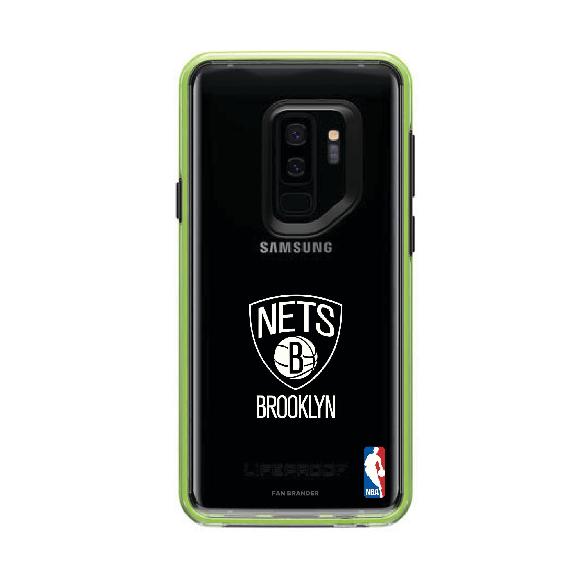 Brooklyn Nets LifeProof Night Flash Primary Logo Galaxy Case