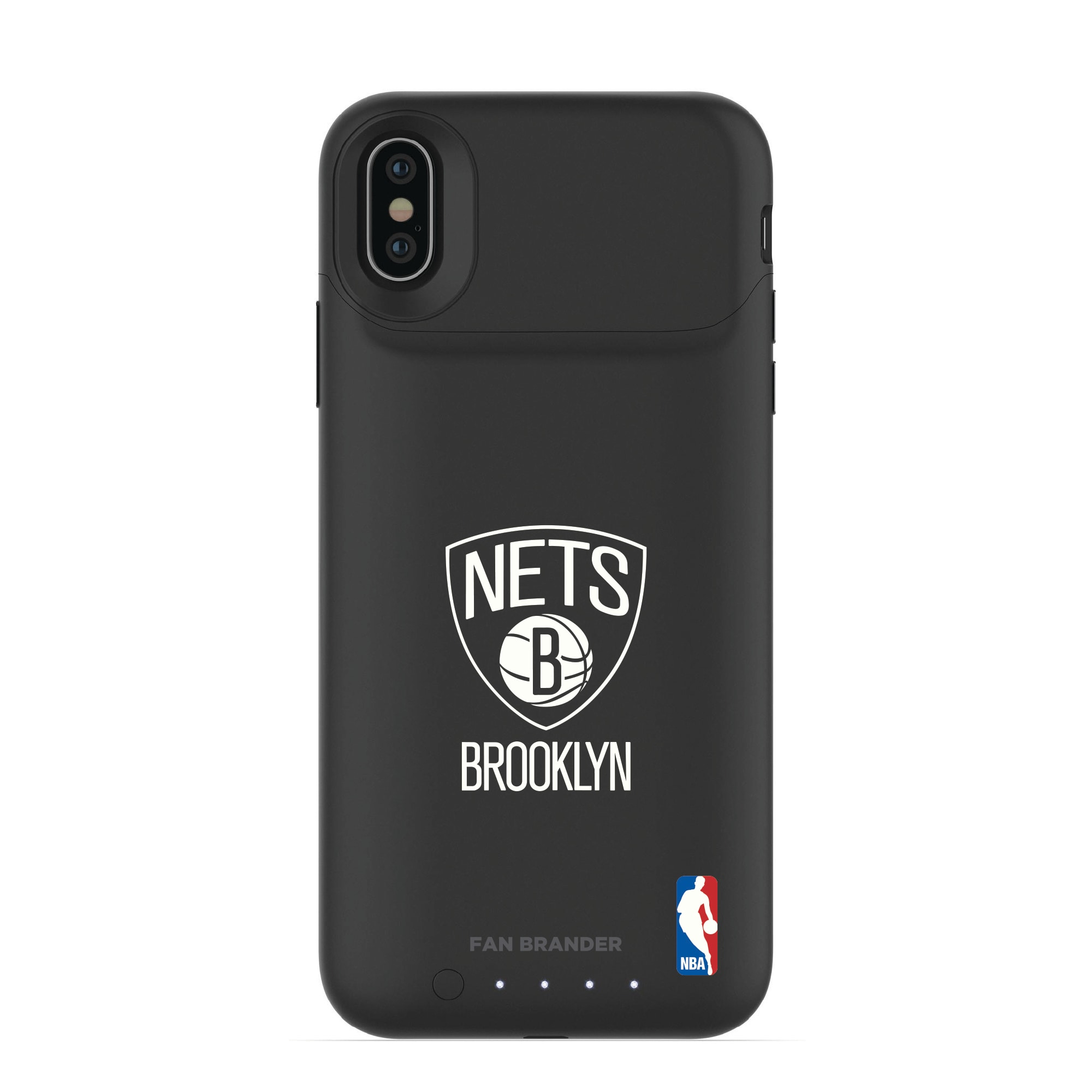Brooklyn Nets mophie Primary Logo iPhone Case