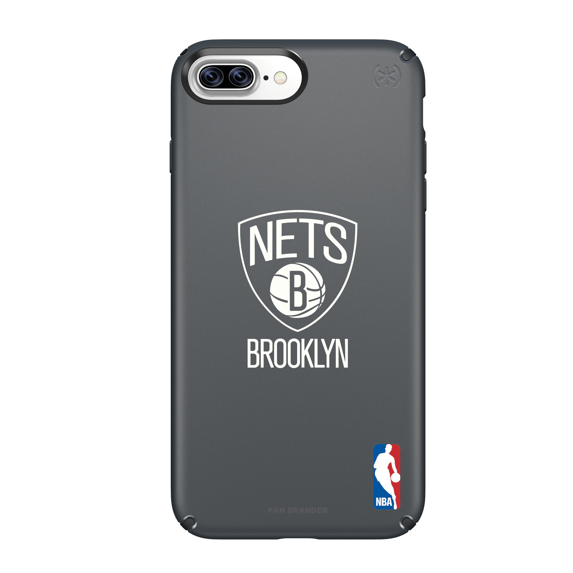 Brooklyn Nets Speck Primary Logo iPhone Case - Black