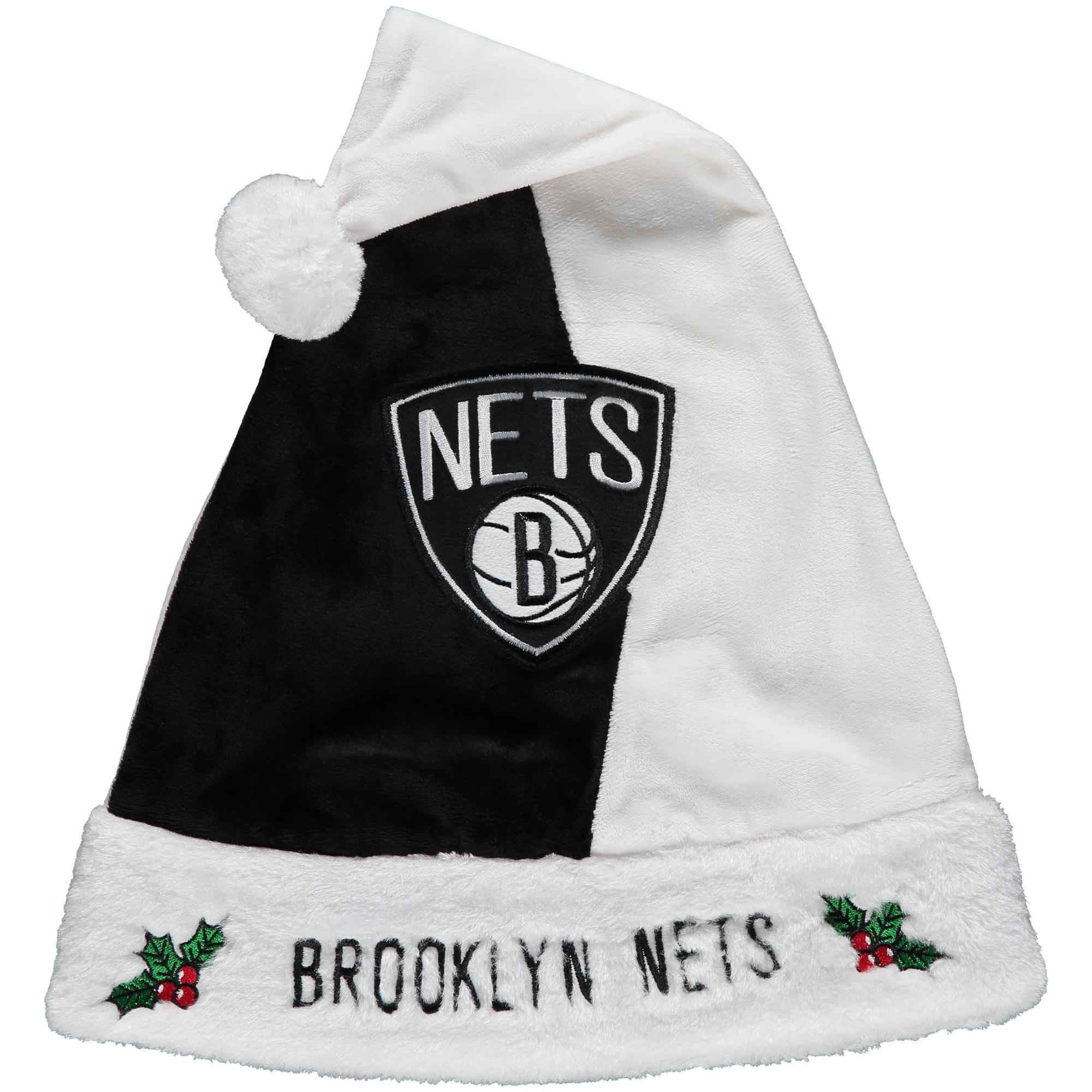 Brooklyn Nets Logo Santa Hat