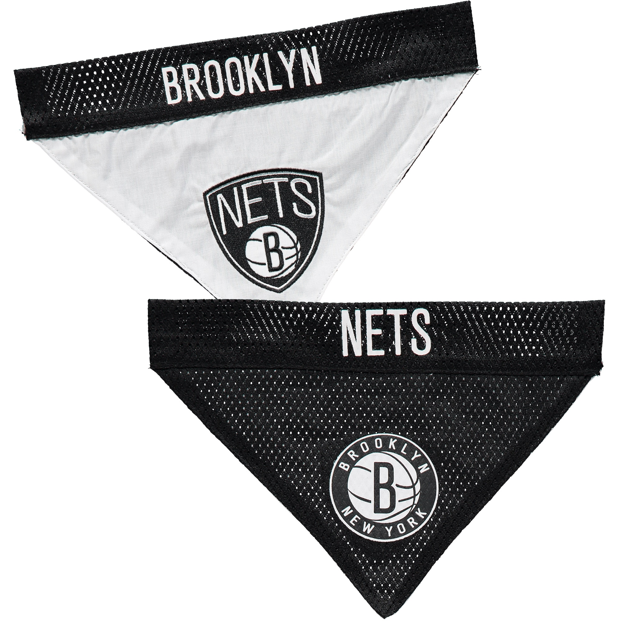 Brooklyn Nets Reversible Bandana Pet Collar